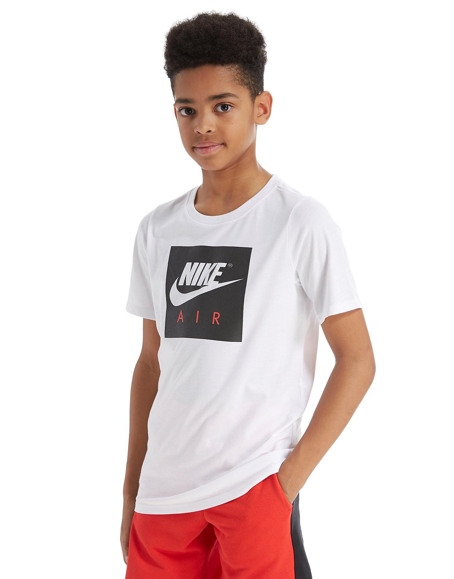 Nike camiseta Air Box Logo júnior