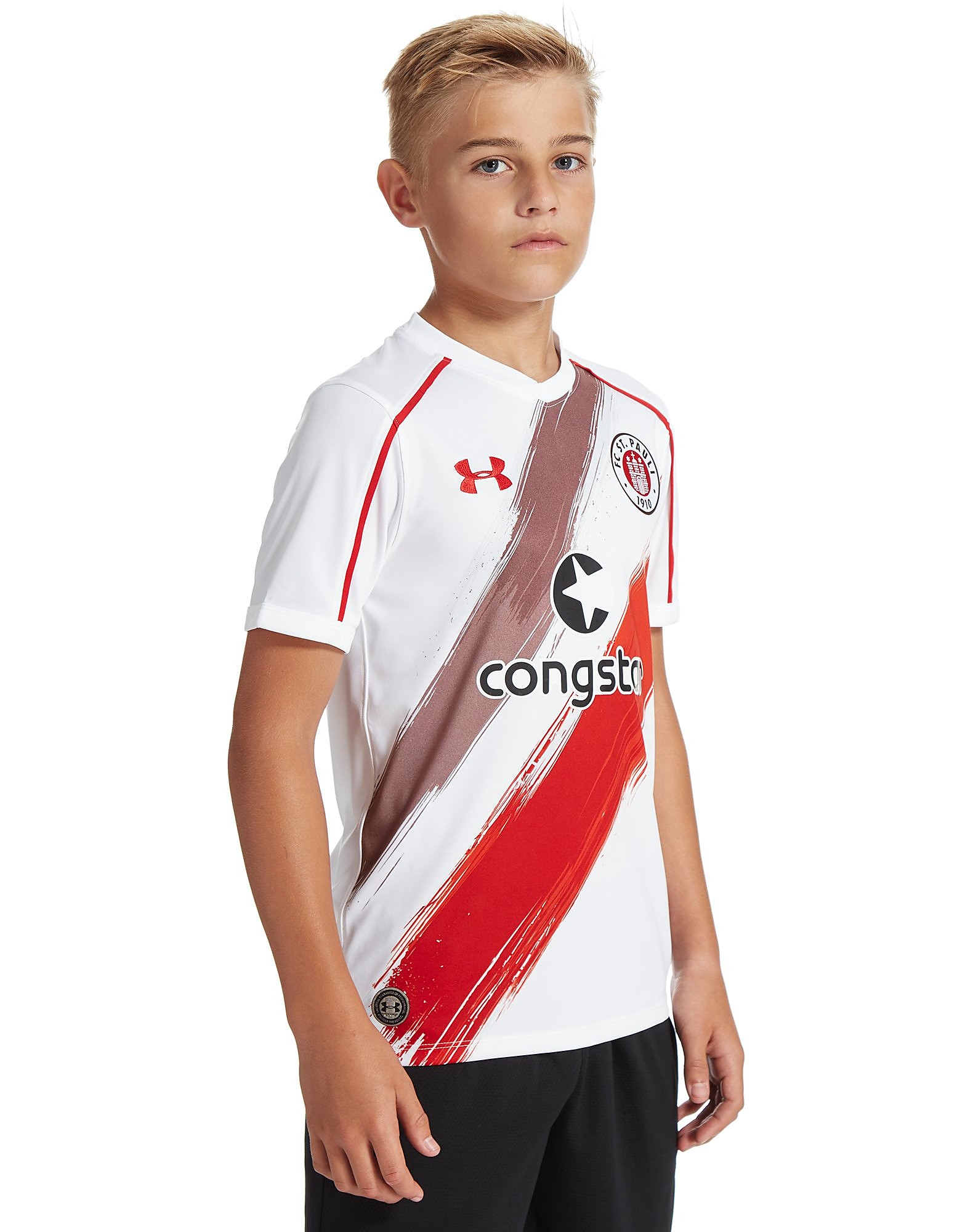 Under Armour FC St. Pauli 2016/17 Auswärtstrikot Kinder