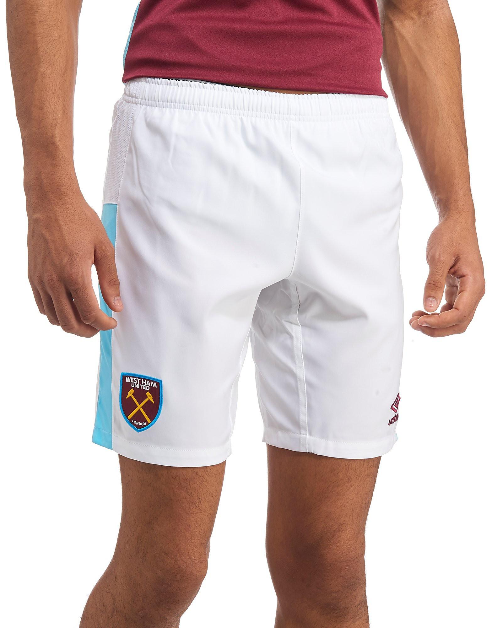 Umbro West Ham United 2016/17 Home Shorts