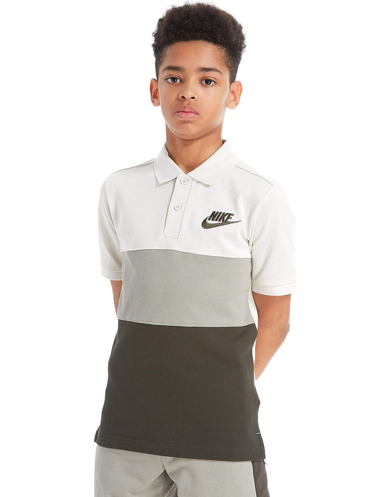 Nike Colourblock Polo Shirt Junior
