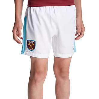 Umbro West Ham United 2016/17 Home Shorts Junior