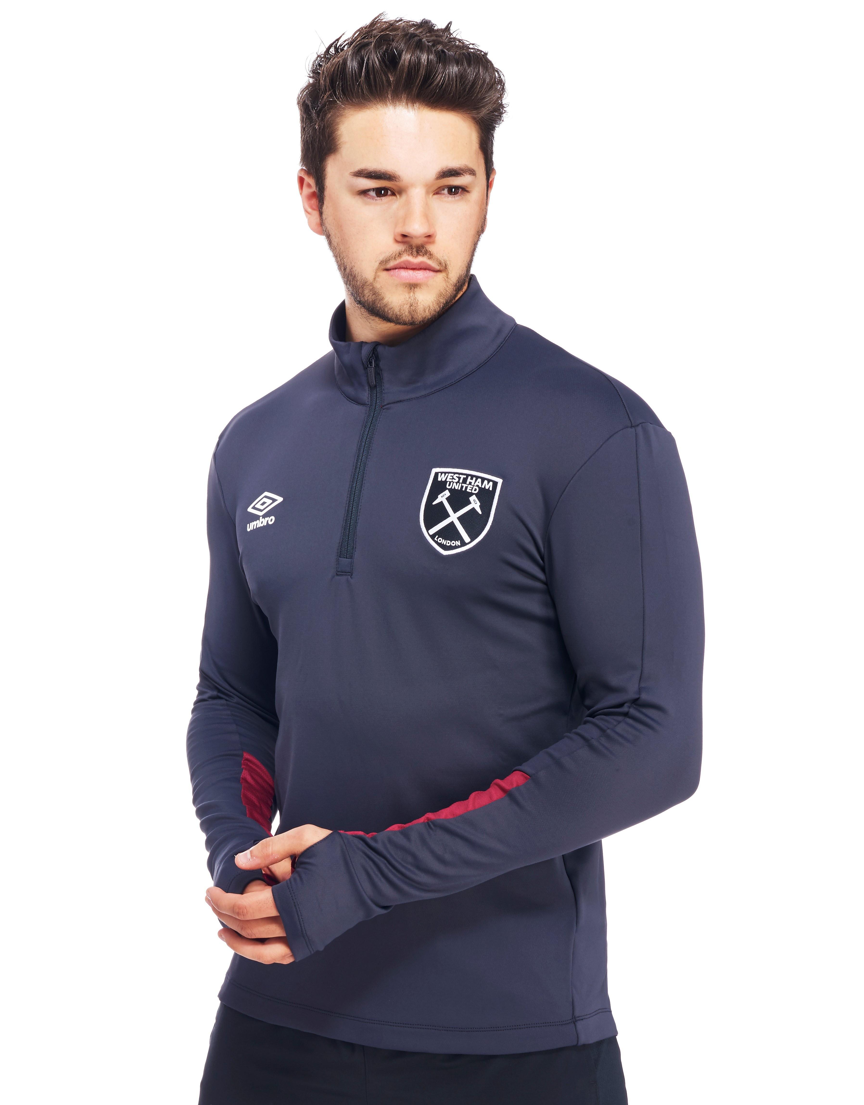 Umbro West Ham United 2016/17 Half Zip Training Top