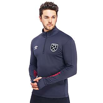 Umbro West Ham United 2016/17 Half Zip Training Top