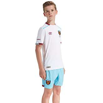 Umbro West Ham United 2016/17 Away Shirt Junior