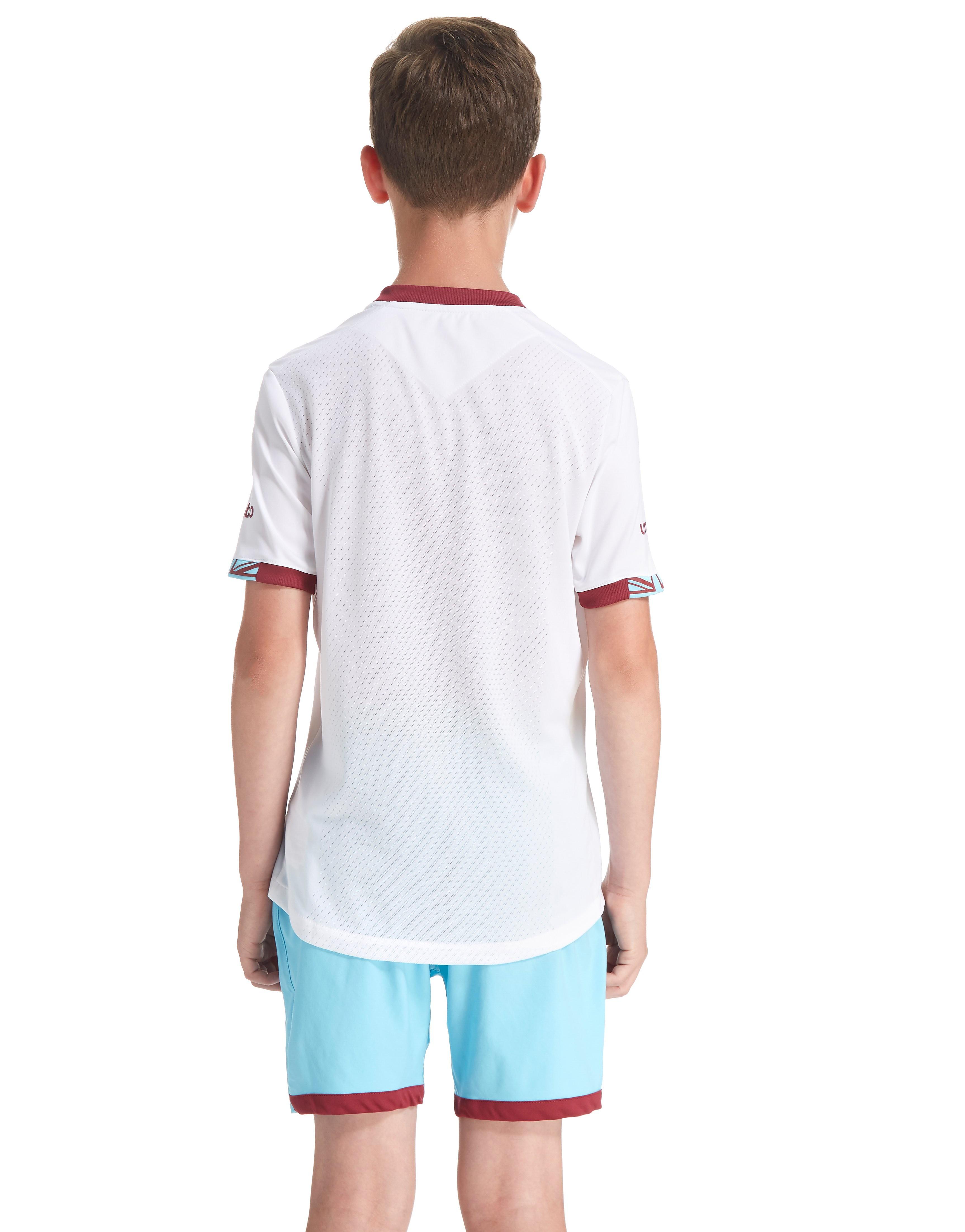 Umbro West Ham United 2016/17 Away Shirt Junior
