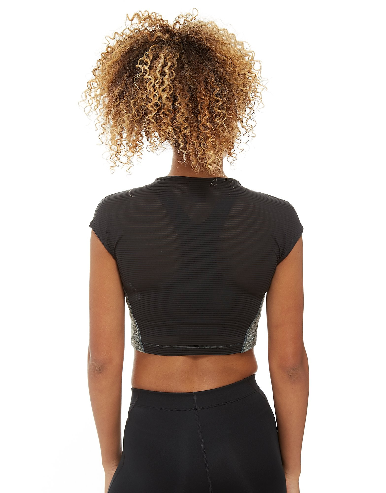 Nike Pro Heather Crop Training Top