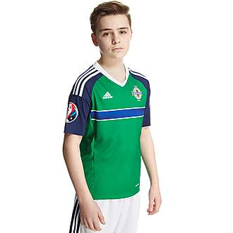 adidas Northern Ireland Home Pre Badged Euro 16 Shirt Jnr