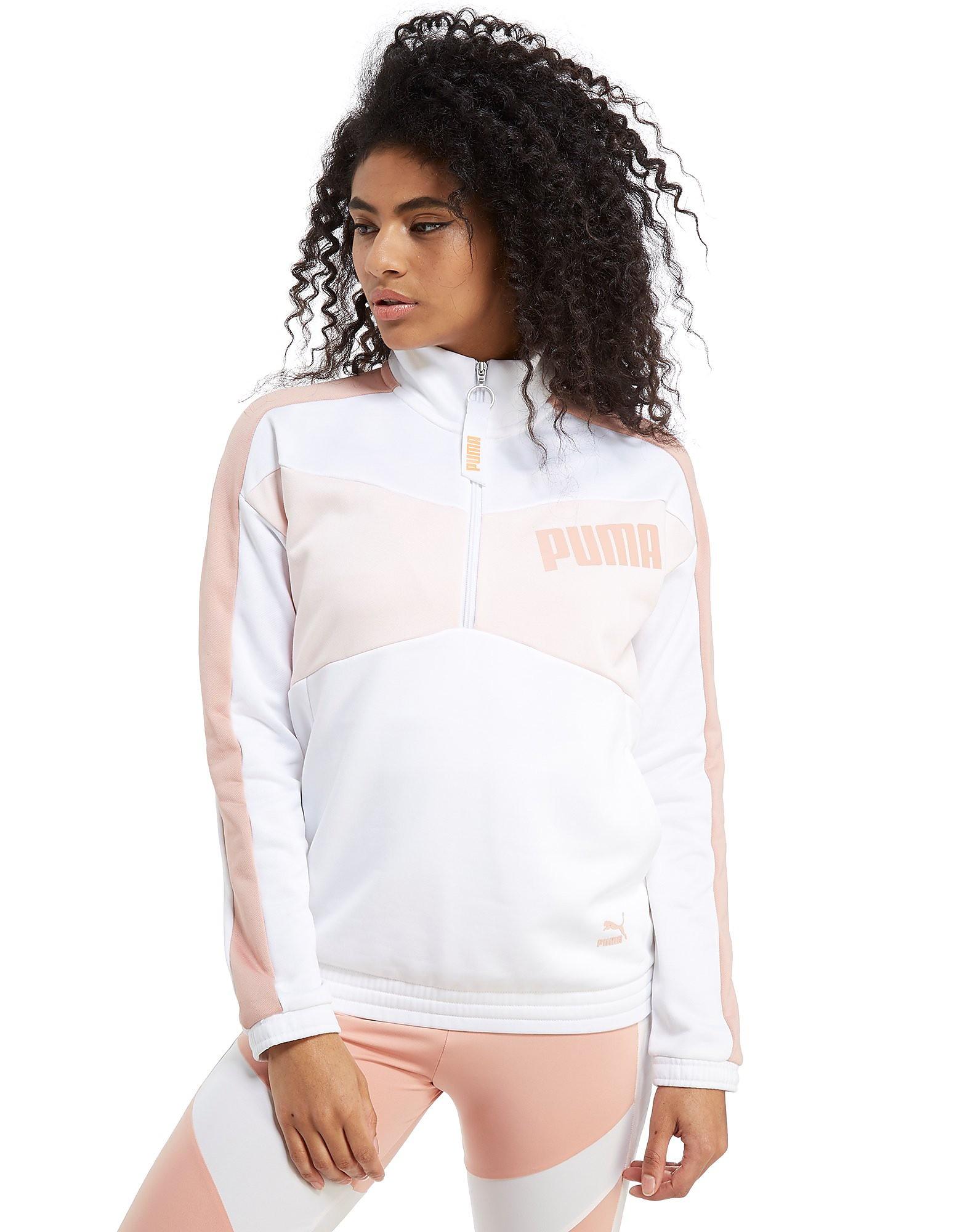 PUMA Archive 1/2 Zip Crew Sweatshirt