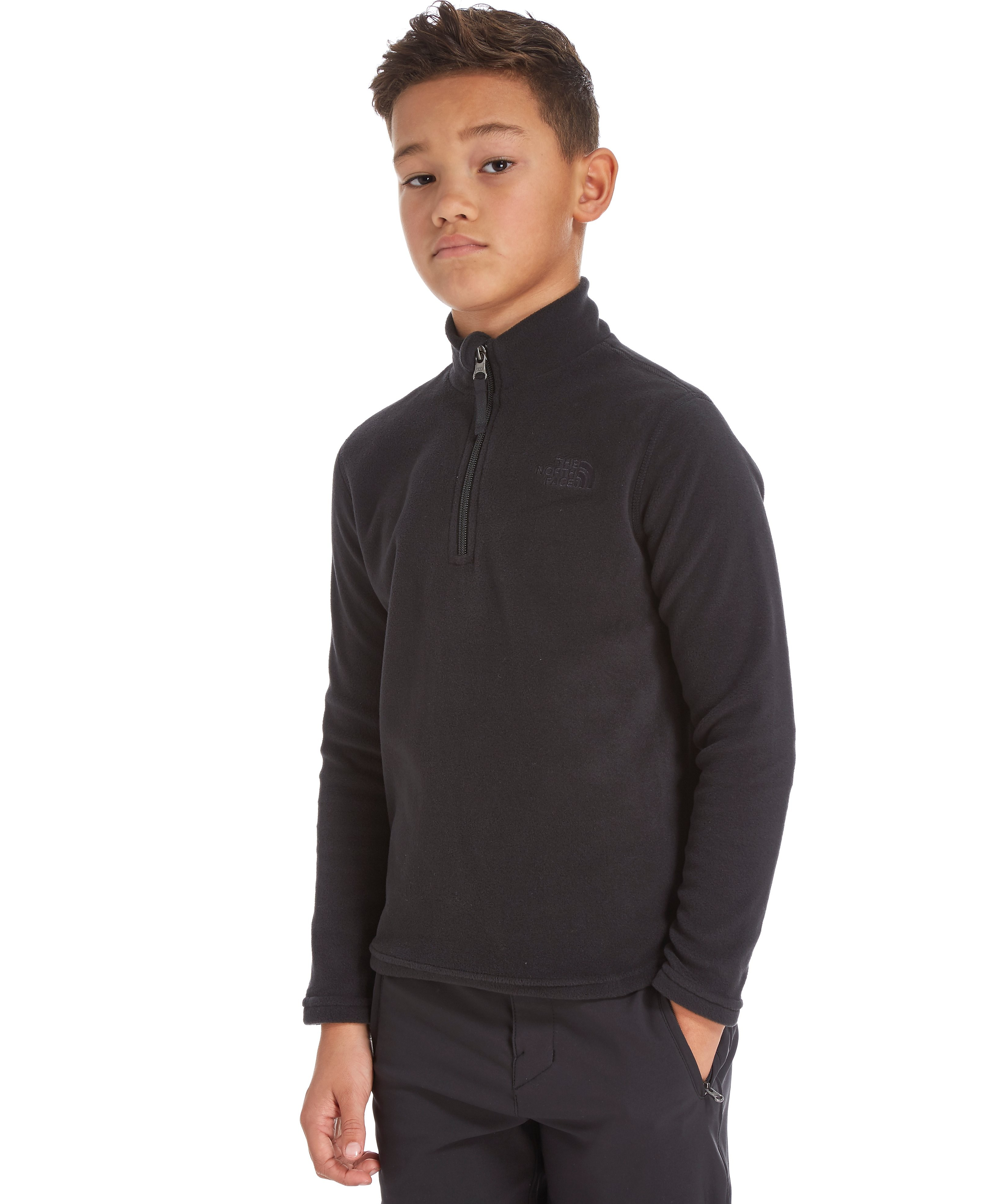 The North Face 100 Glacier 1/4 Zip Jacket Junior
