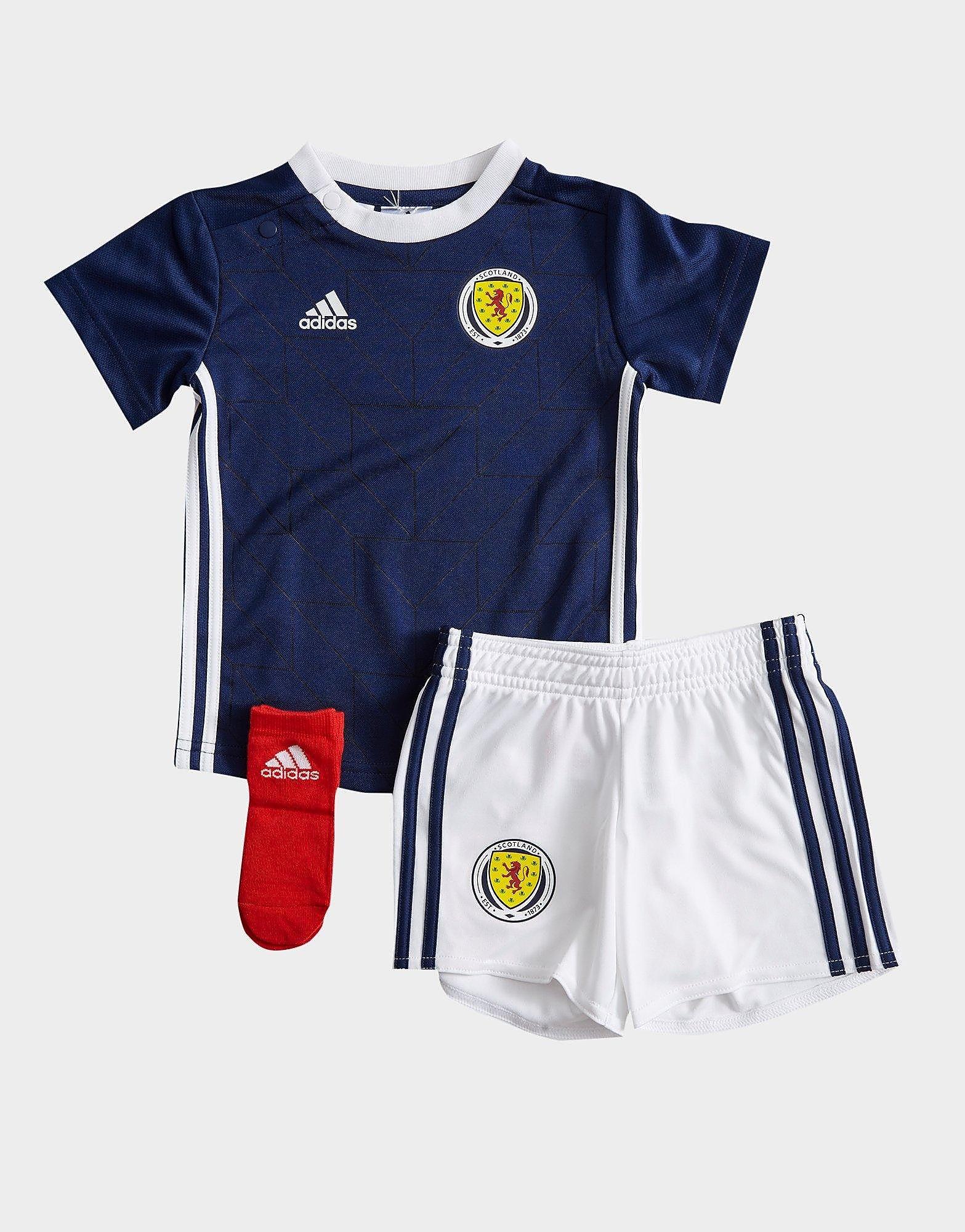 adidas Scotland 2018/19 Home Kit Baby's - Blauw - Kind