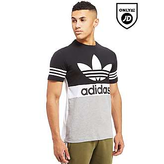 adidas Originals Trefoil 3-Stripe Urban Stack T-Shirt