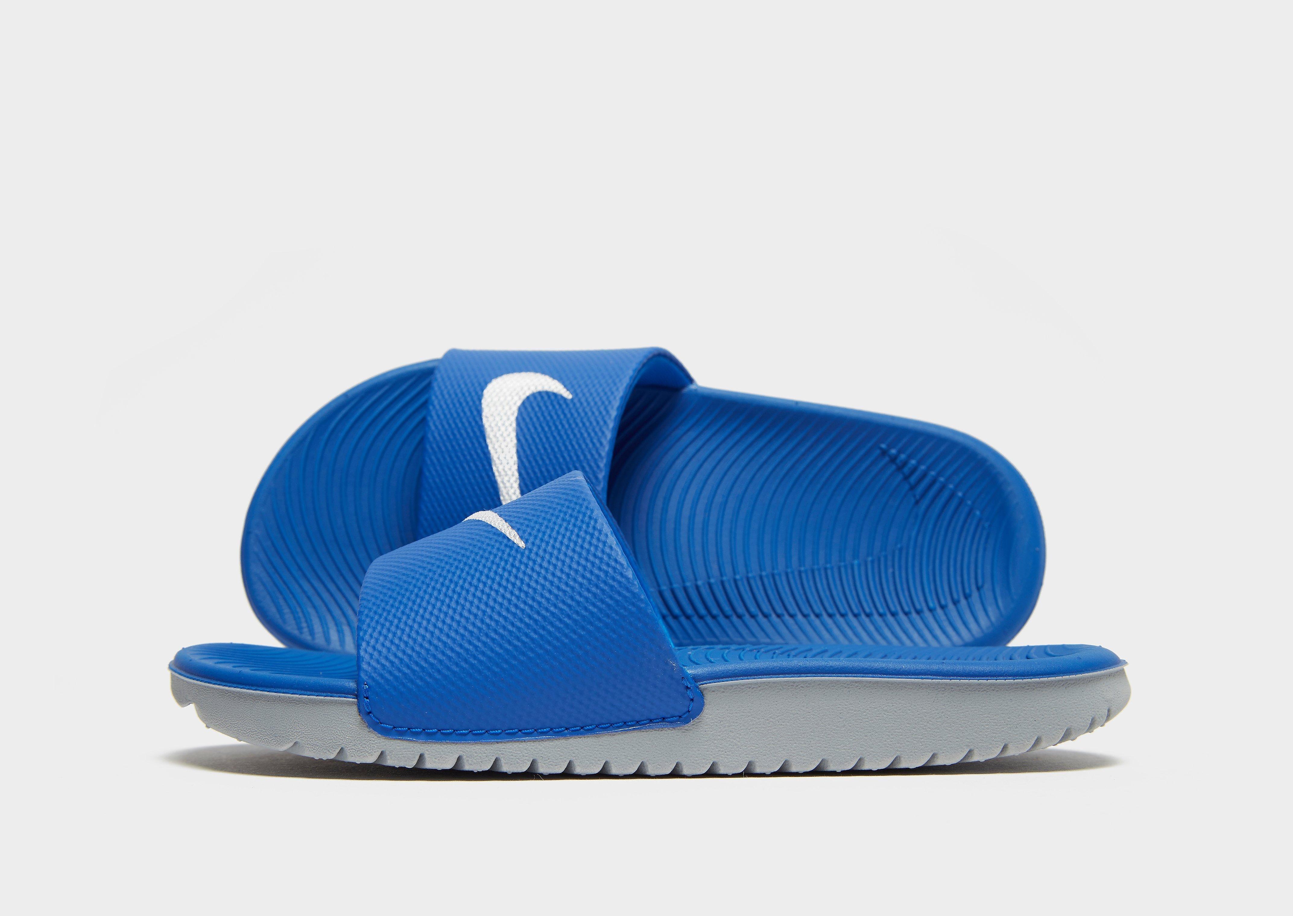 Nike Kawa Slides Children - Blauw - Kind