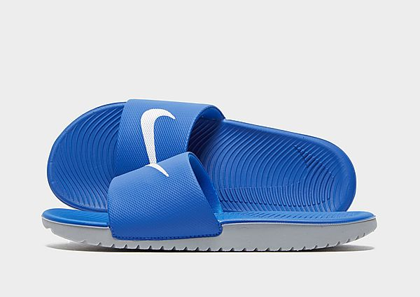 Comprar deportivas Nike chanclas Kawa júnior, Blue