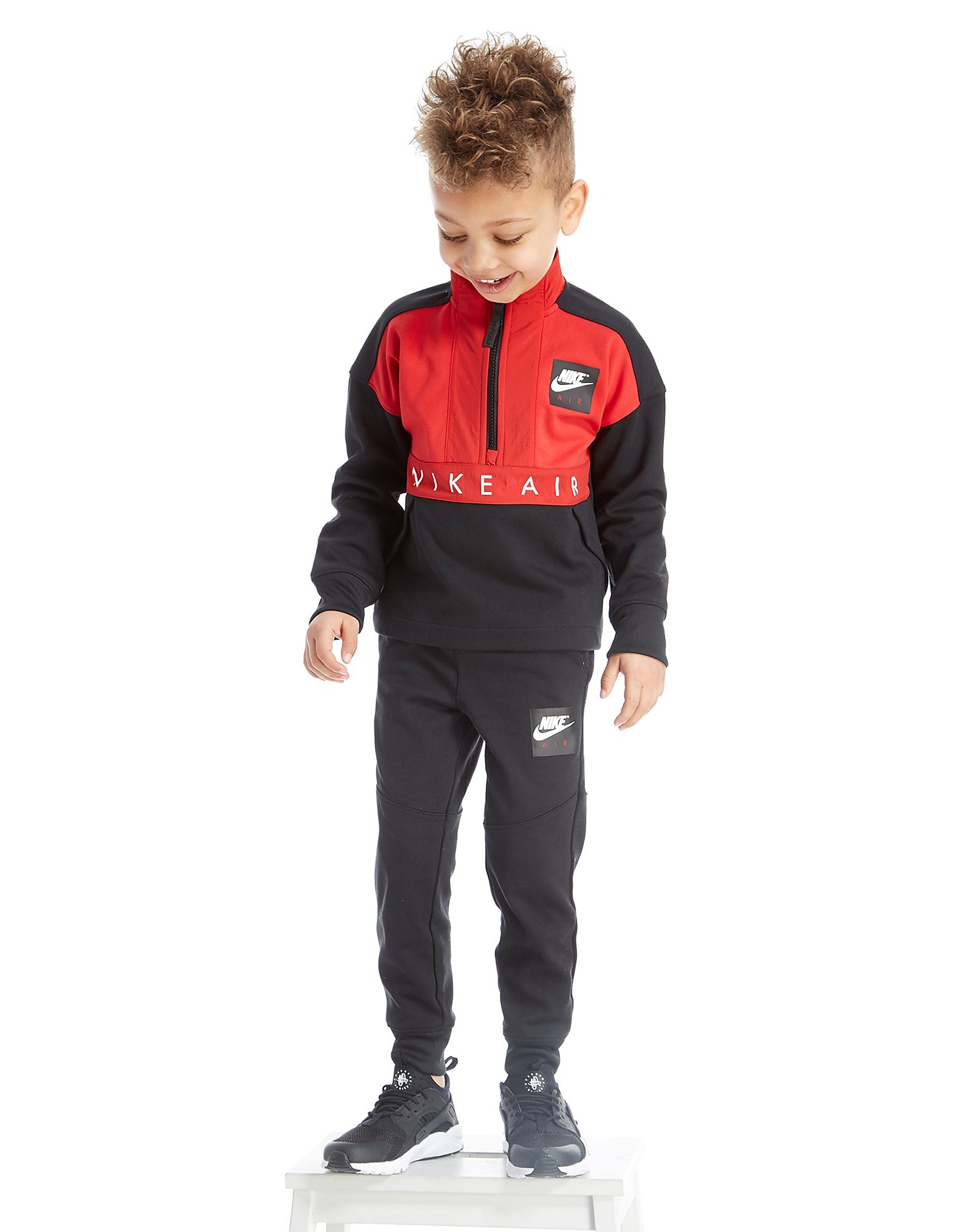 Nike Air Poly 1/2 Zip Tracksuit Children