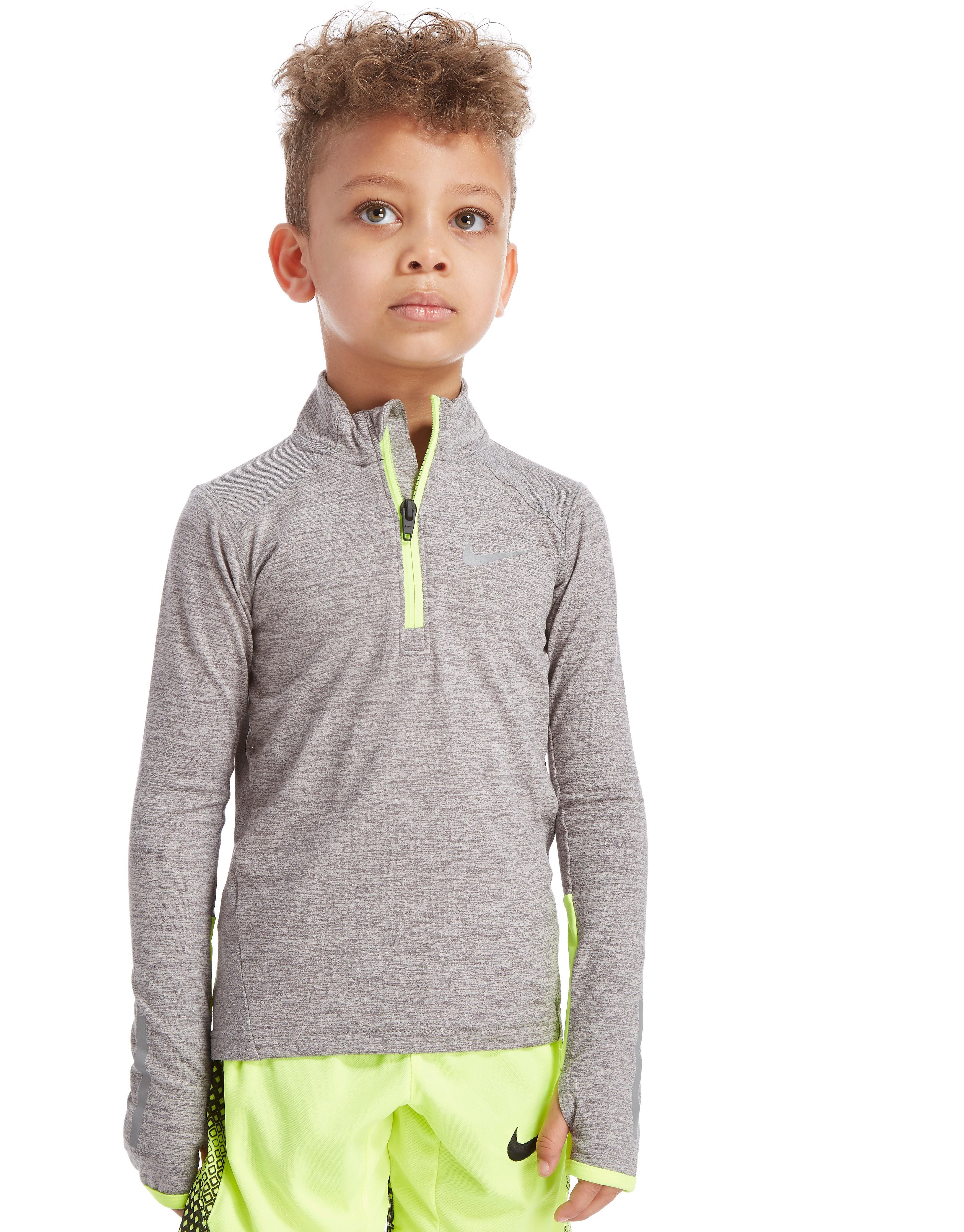 Nike Element 1/2 Zip Top Kinderen - Grijs - Kind