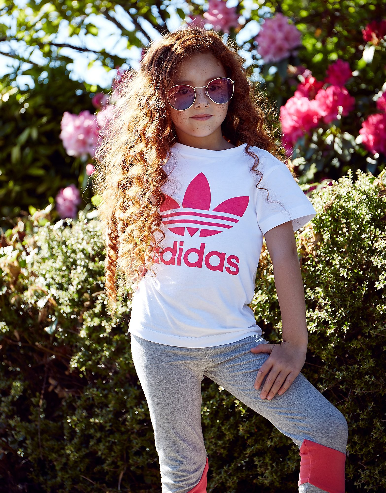 adidas Trefoil T-Shirt Bambina