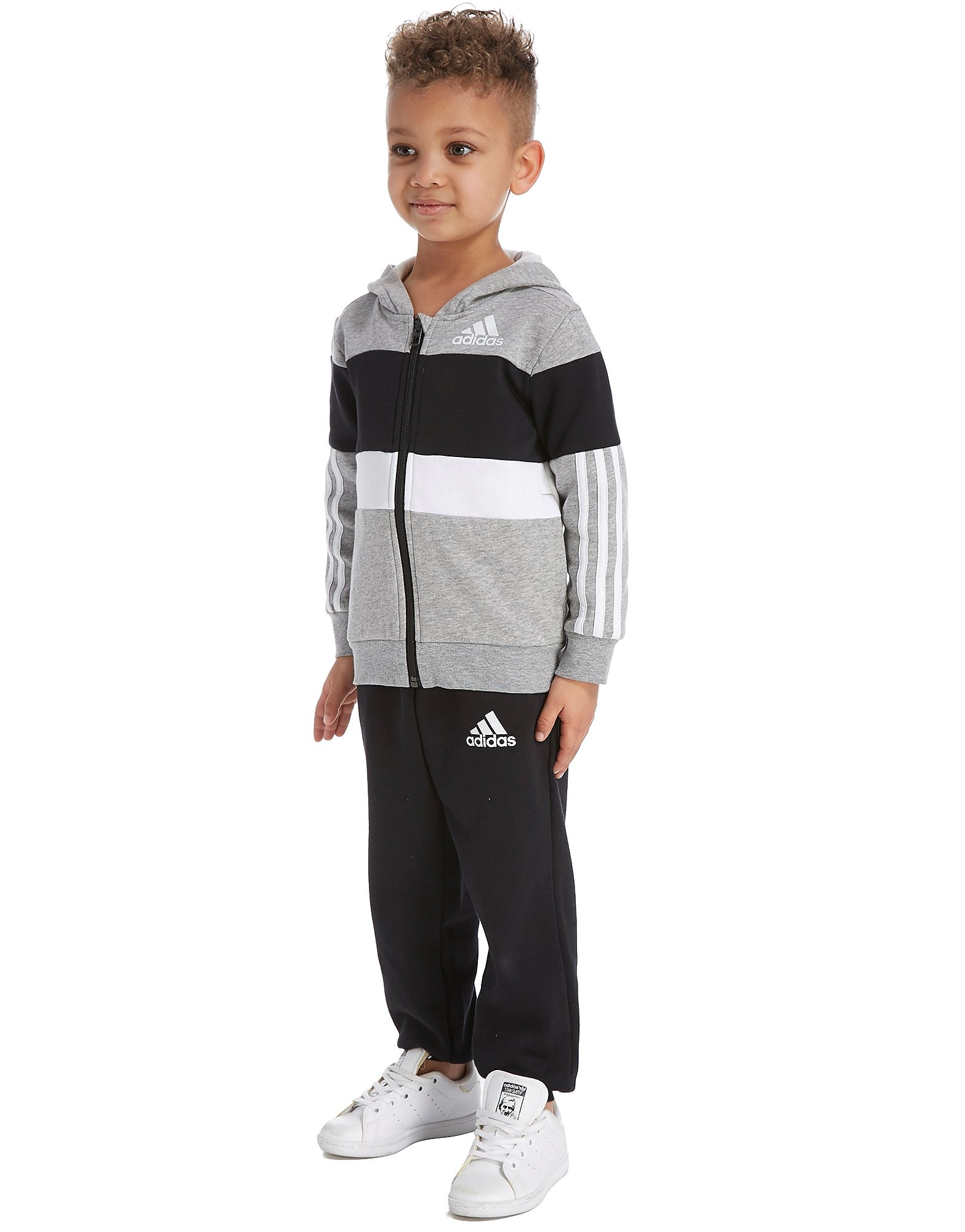 adidas Colourblock Tracksuit Children