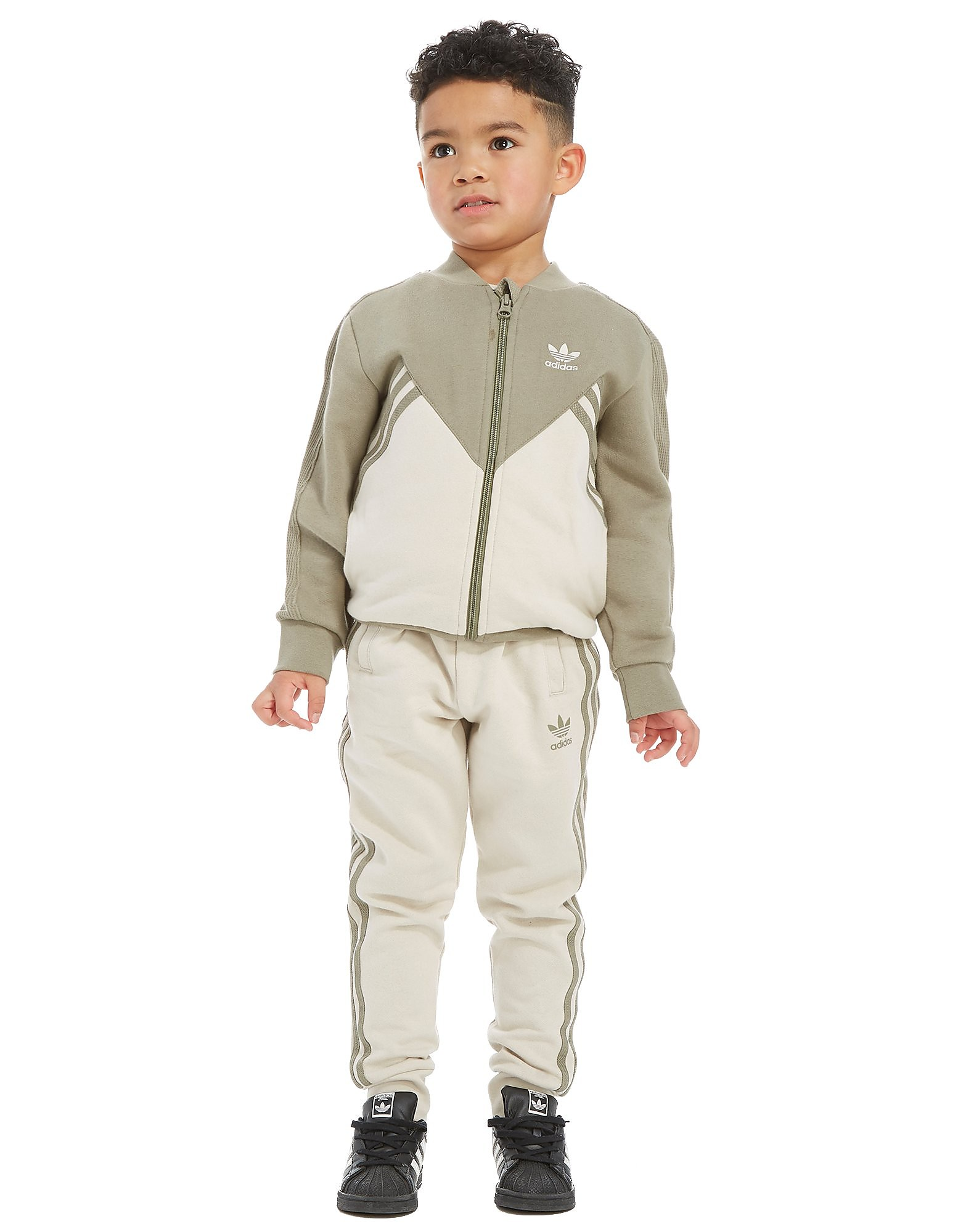 adidas Originals MOA Fleece Superstar Tracksuit Children