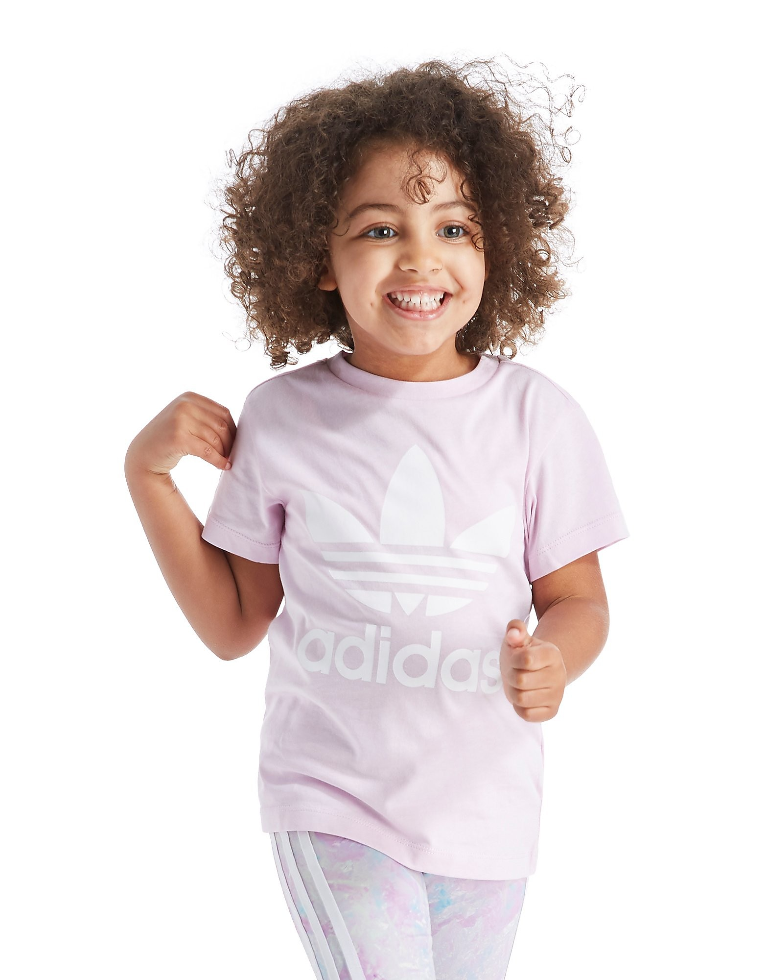 adidas Originals Girl's Trefoilc T-Shirt Children's