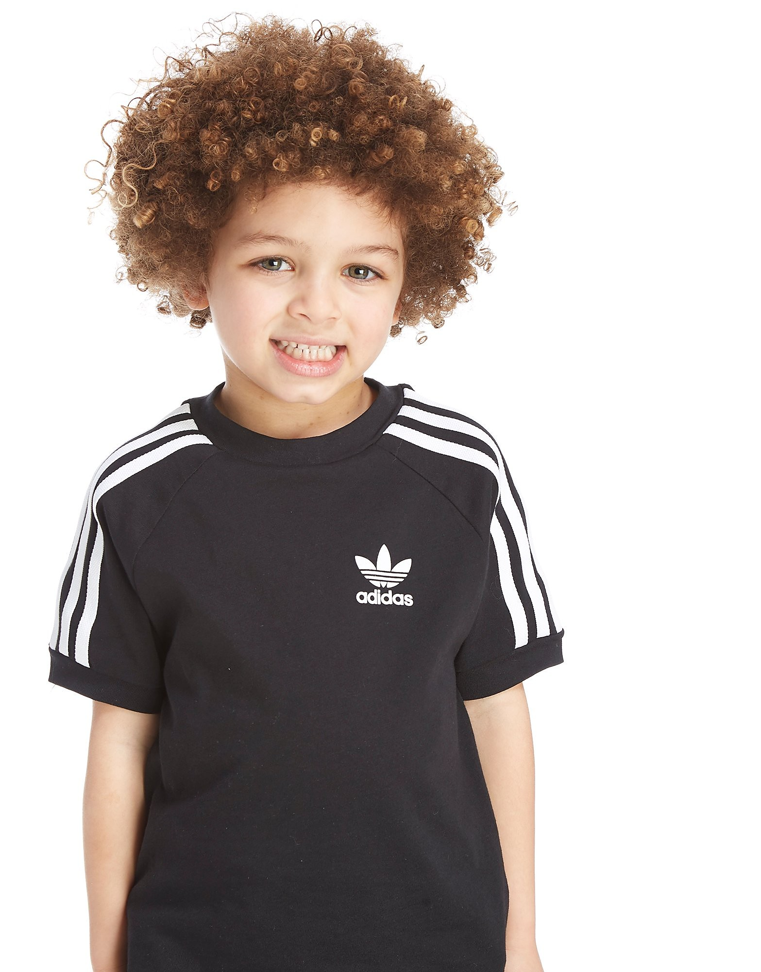 adidas Originals Girls' California T-Shirt Kinderen - Zwart - Kind