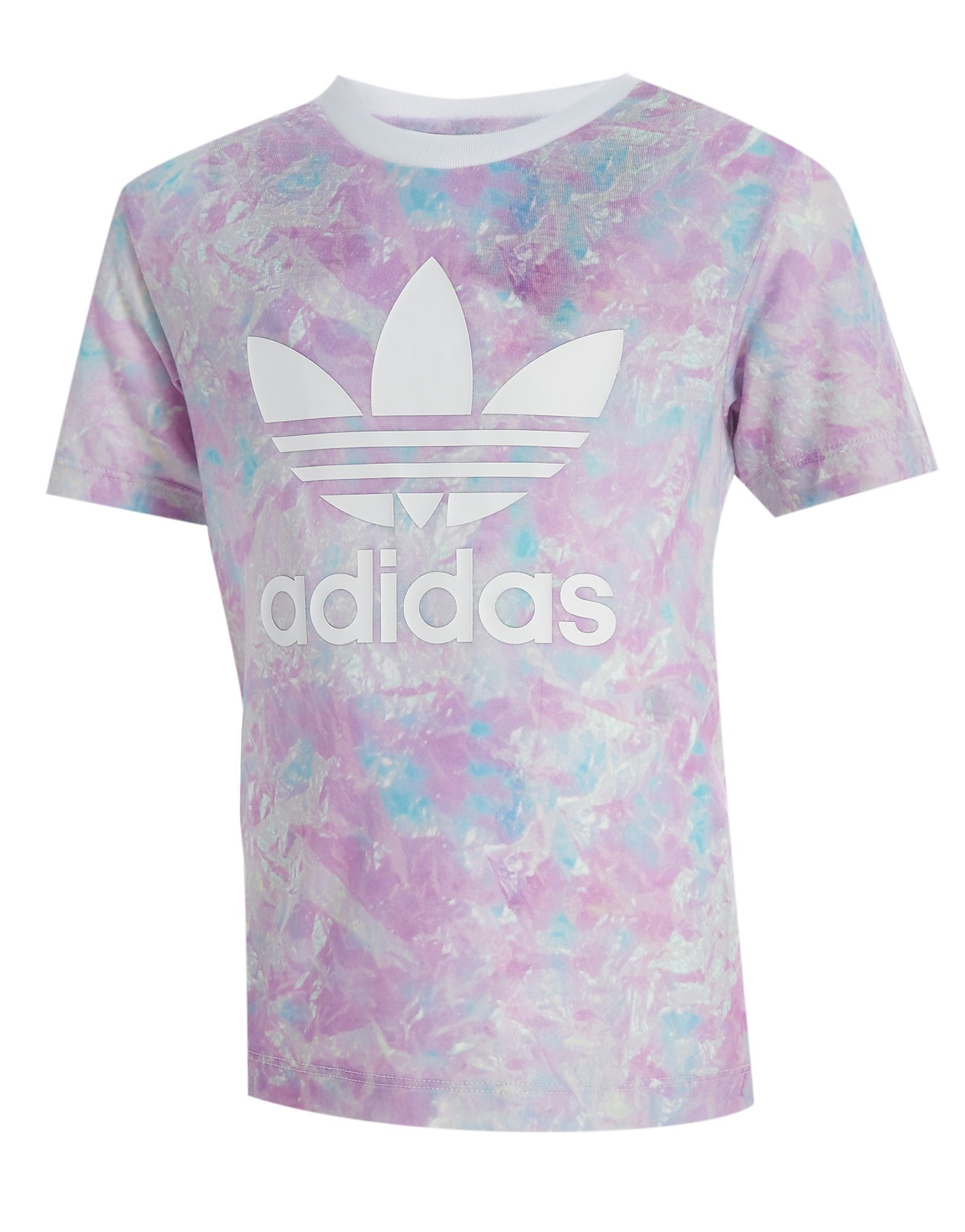 adidas Originals Girls' All Over Print T-Shirt Children