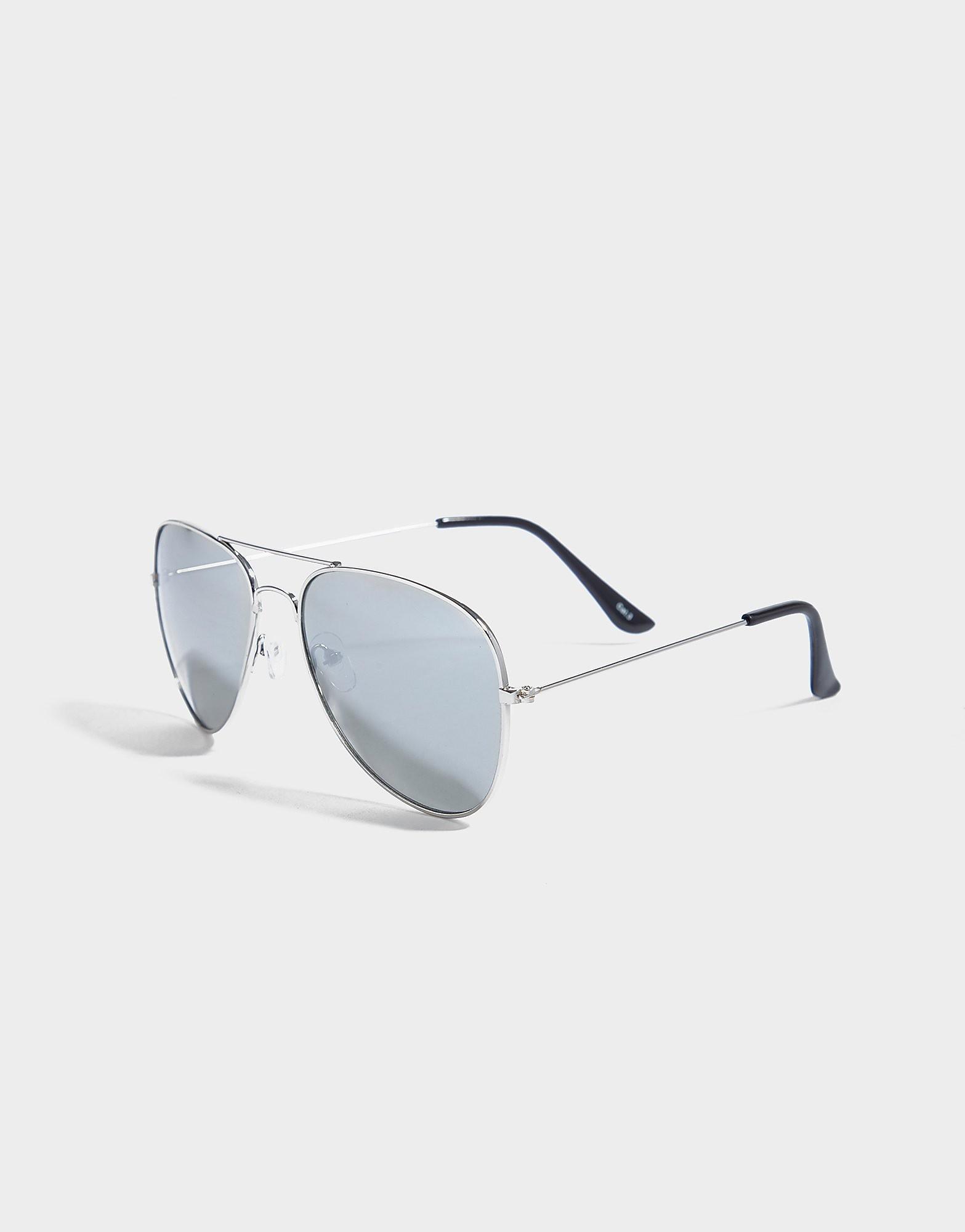 Brookhaven Francis Mirrored Aviator Sunglasses