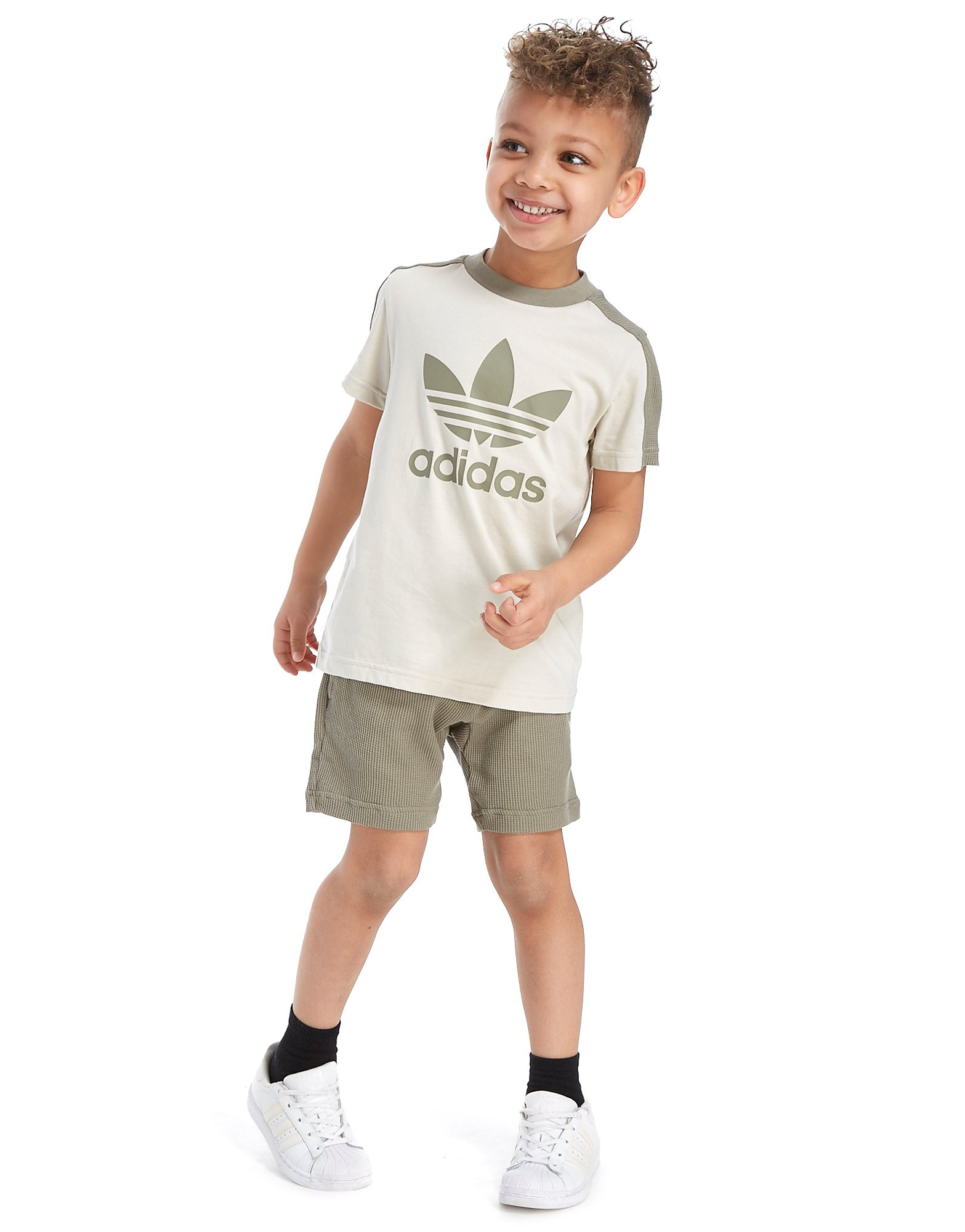 adidas Originals MOA T-Shirt & Shorts Set Children