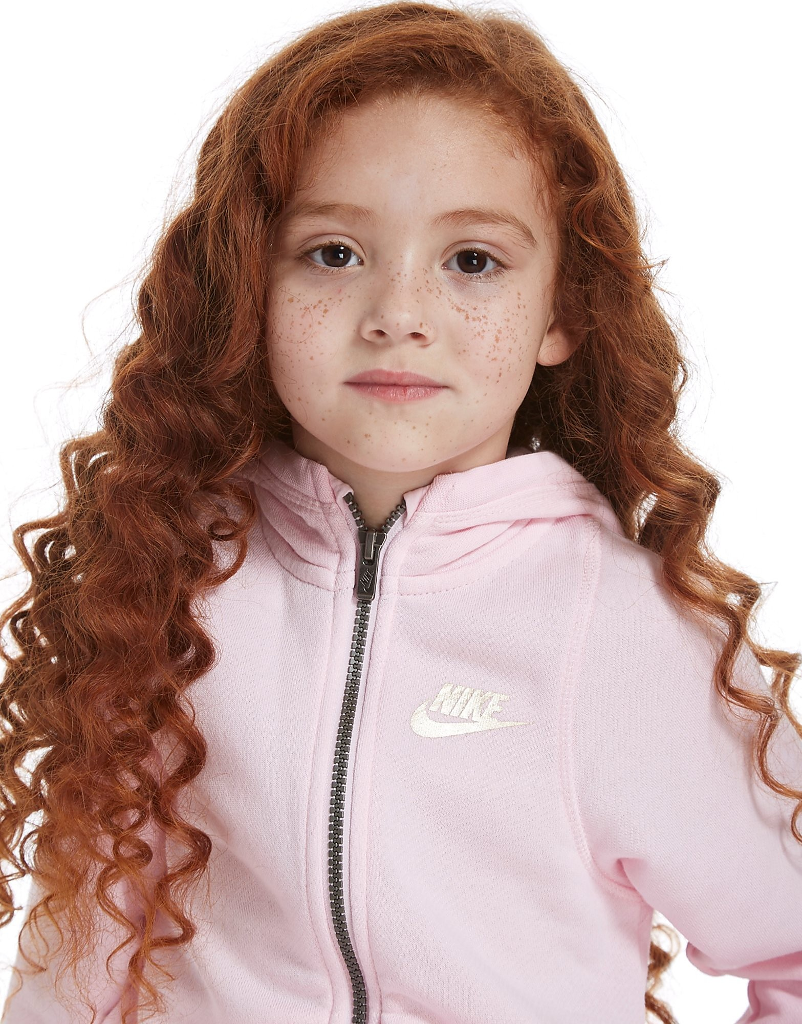 Nike Girls' Modern Full Zip Suit Children