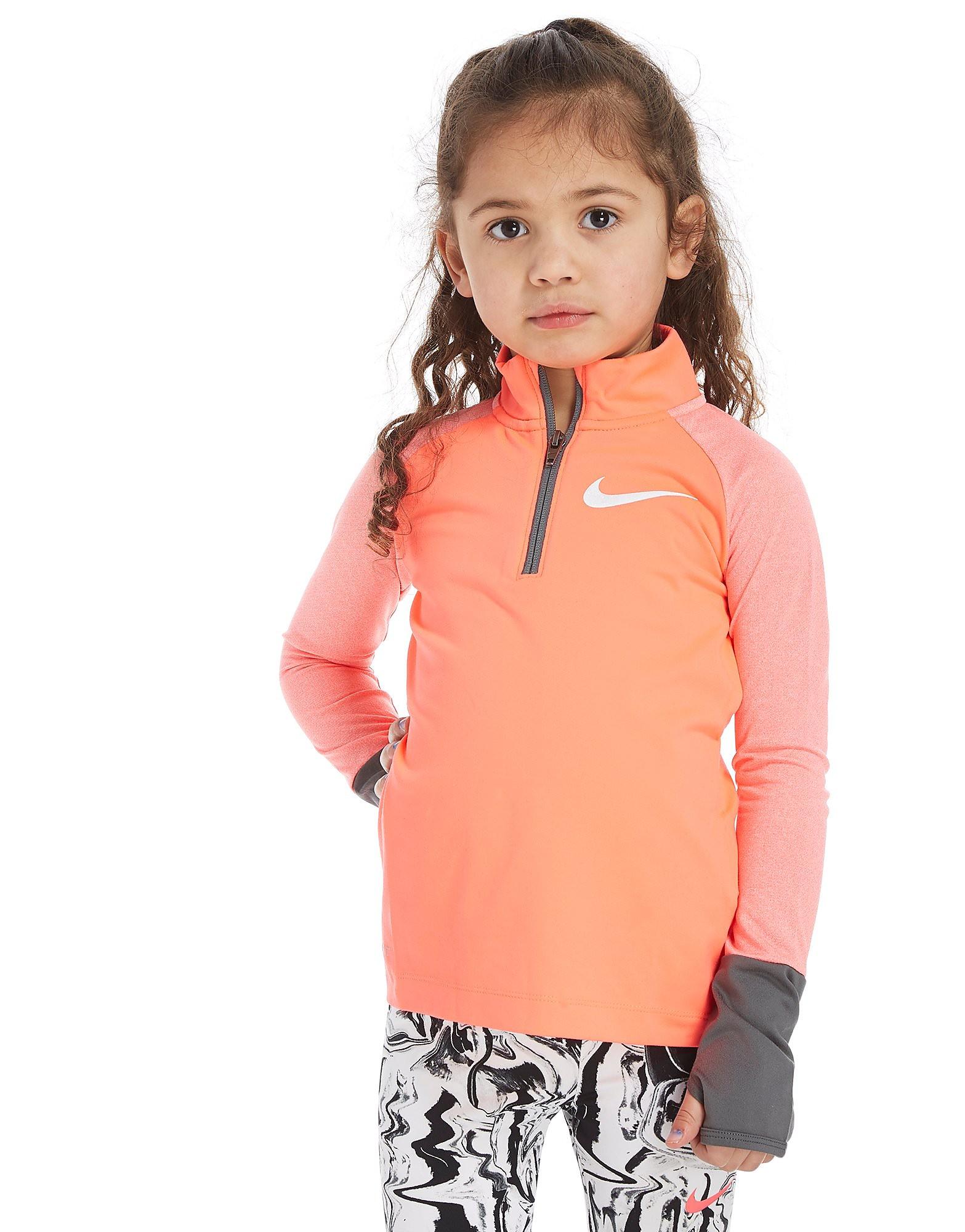 Nike Girls' Element 1/2 Zip Top Children