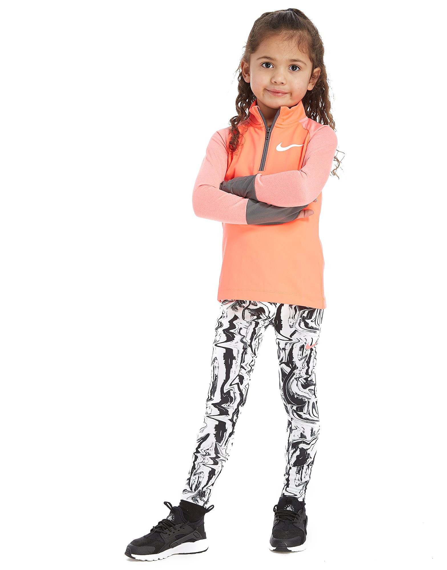 Nike Girls' Element 1/2 Zip Top Children