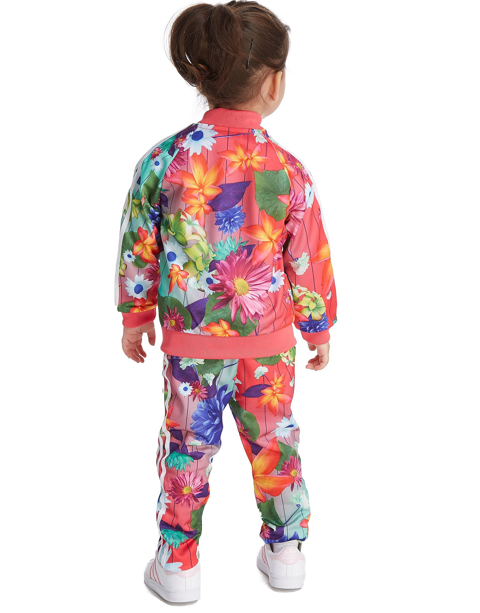 adidas Originals Girls' All Over Print Superstar Tracksuit Baby's