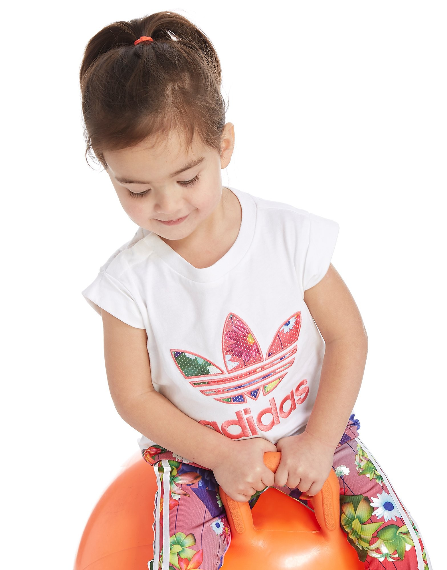adidas Originals Girls' Graphic Infil T-Shirt Infant