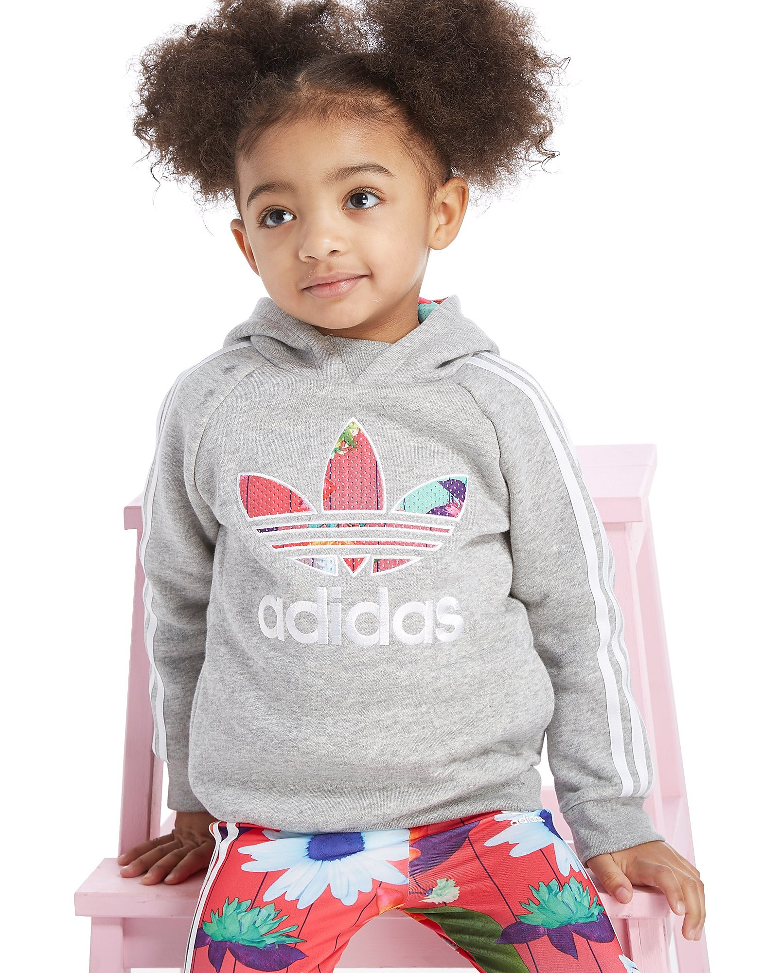 adidas Originals Girls' Graphic Hoodie/Leggings Set Baby's