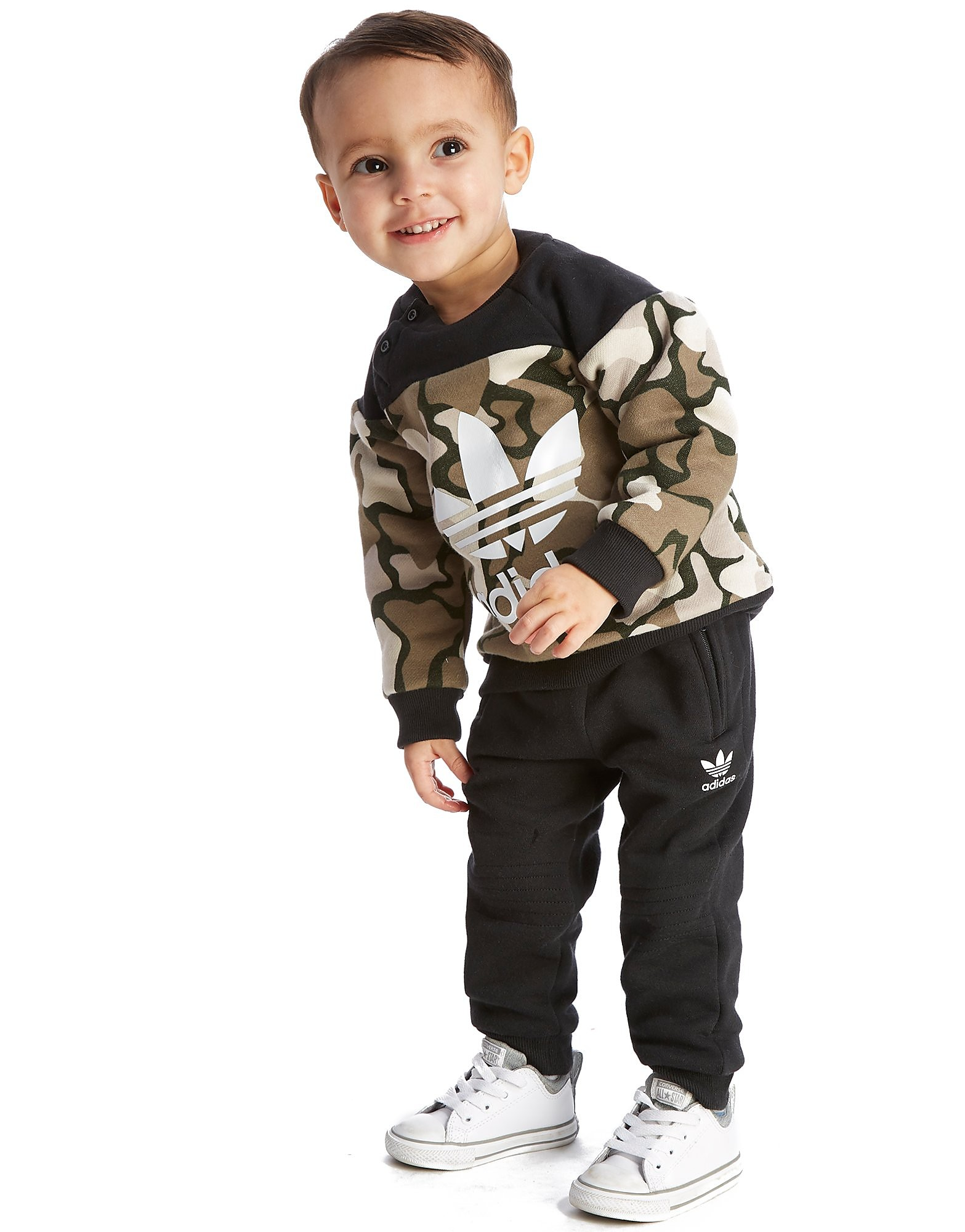 adidas Originals Europe 2 Camo Crew Suit Infant