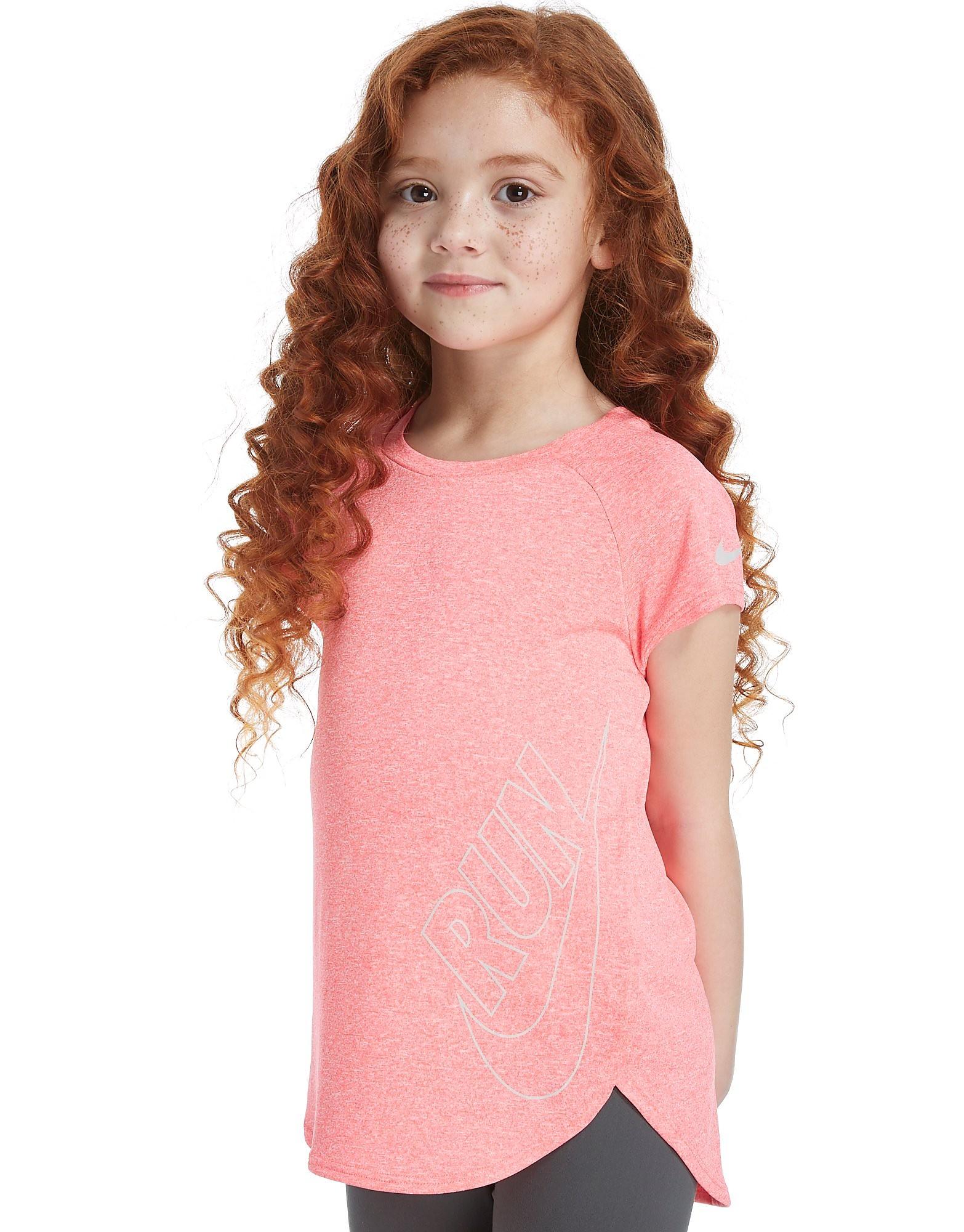 Nike Girls' Short Sleeve Top Kinderen - Roze - Kind