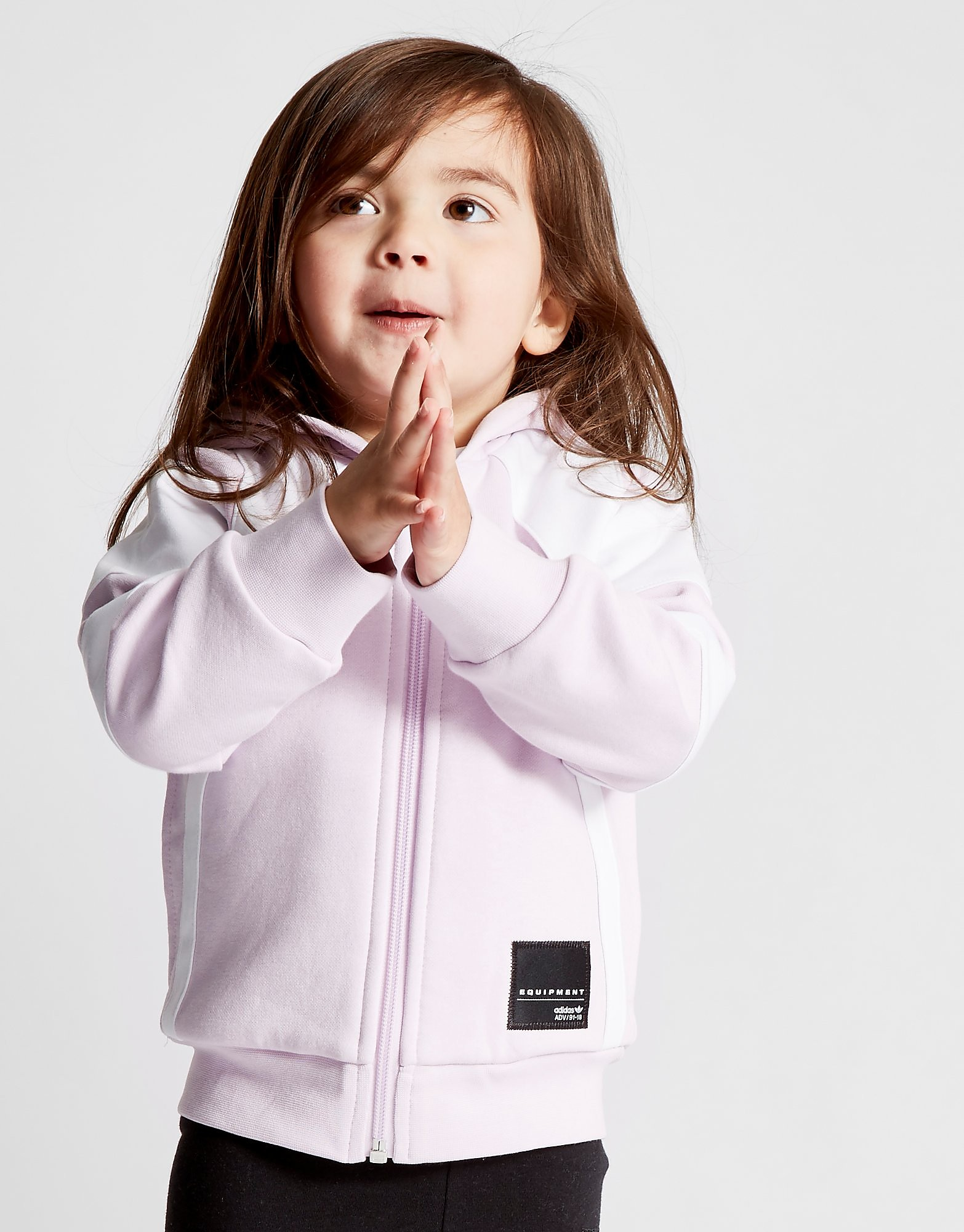 adidas Originals Girls' EQT Hoodie & Leggings Set Infant