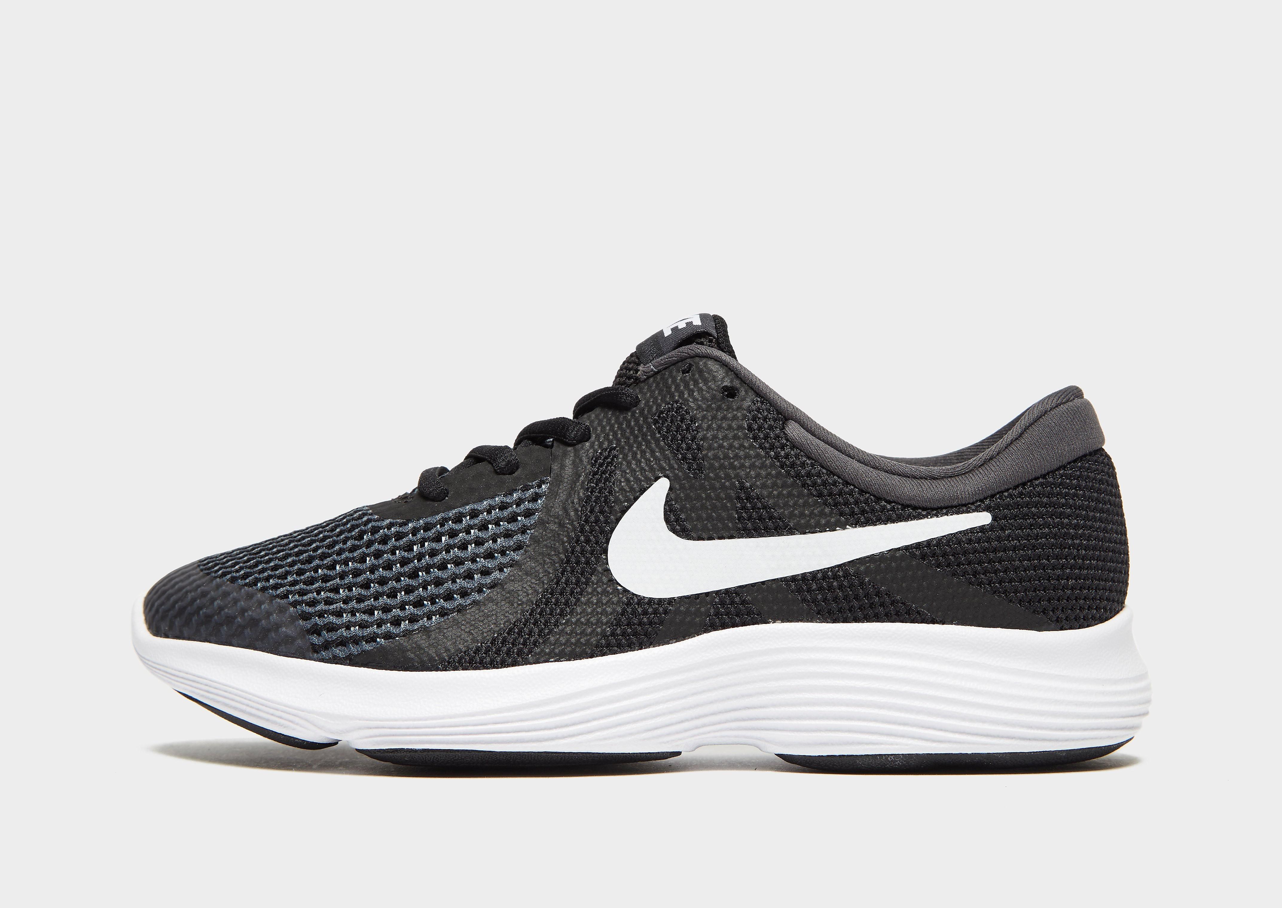 Nike Revolution 4 Junior - Zwart - Kind