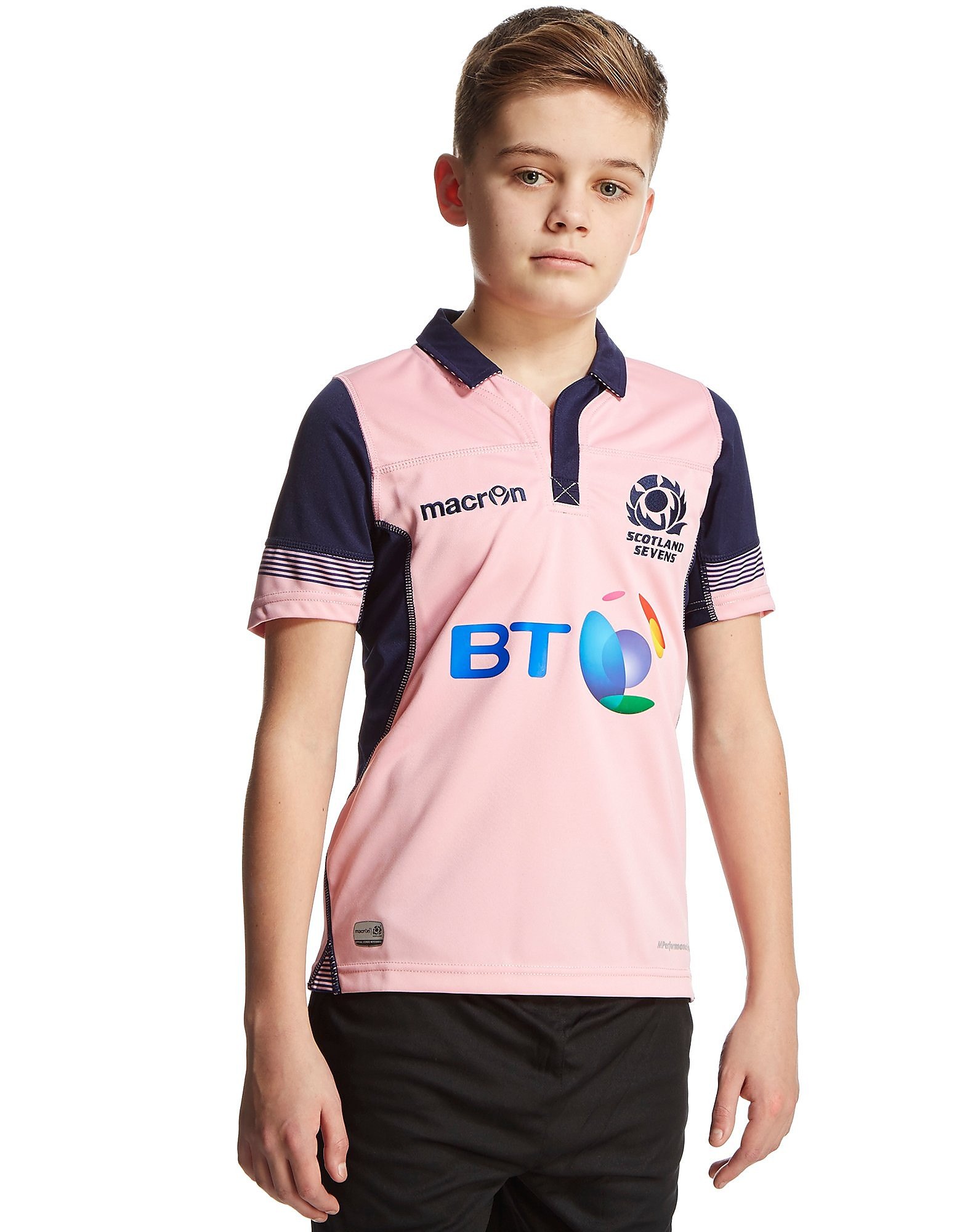 Macron Scotland RFU Away 2015/16 Sevens Shirt Junior