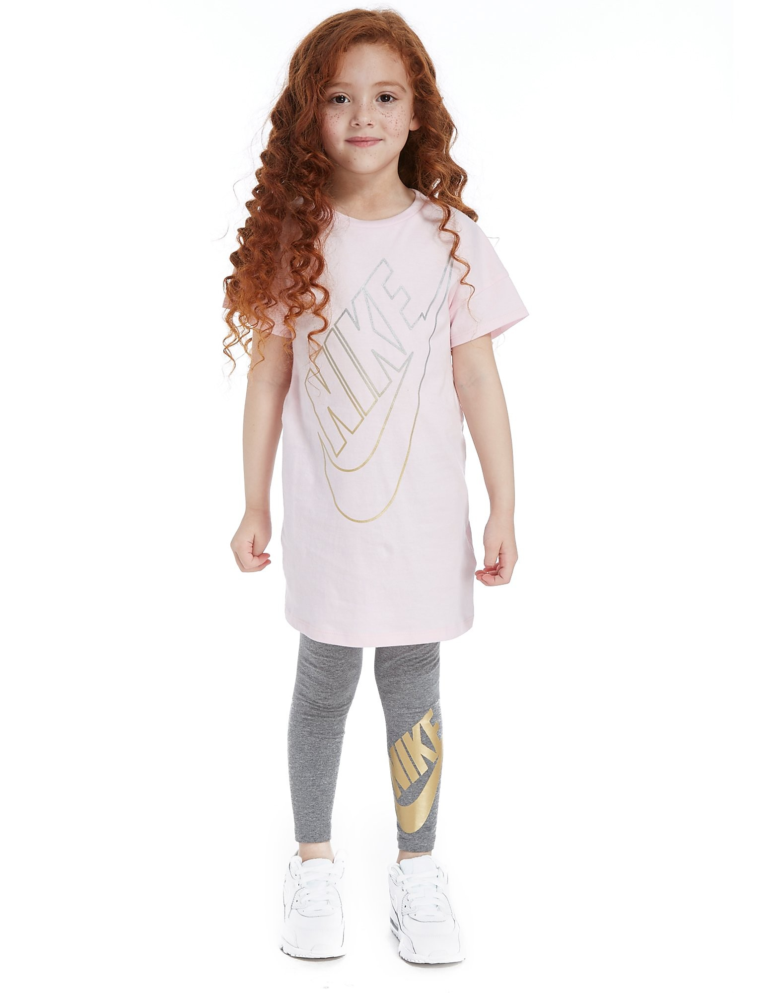 Nike Girls' T-Shirt/Leggings Set Children