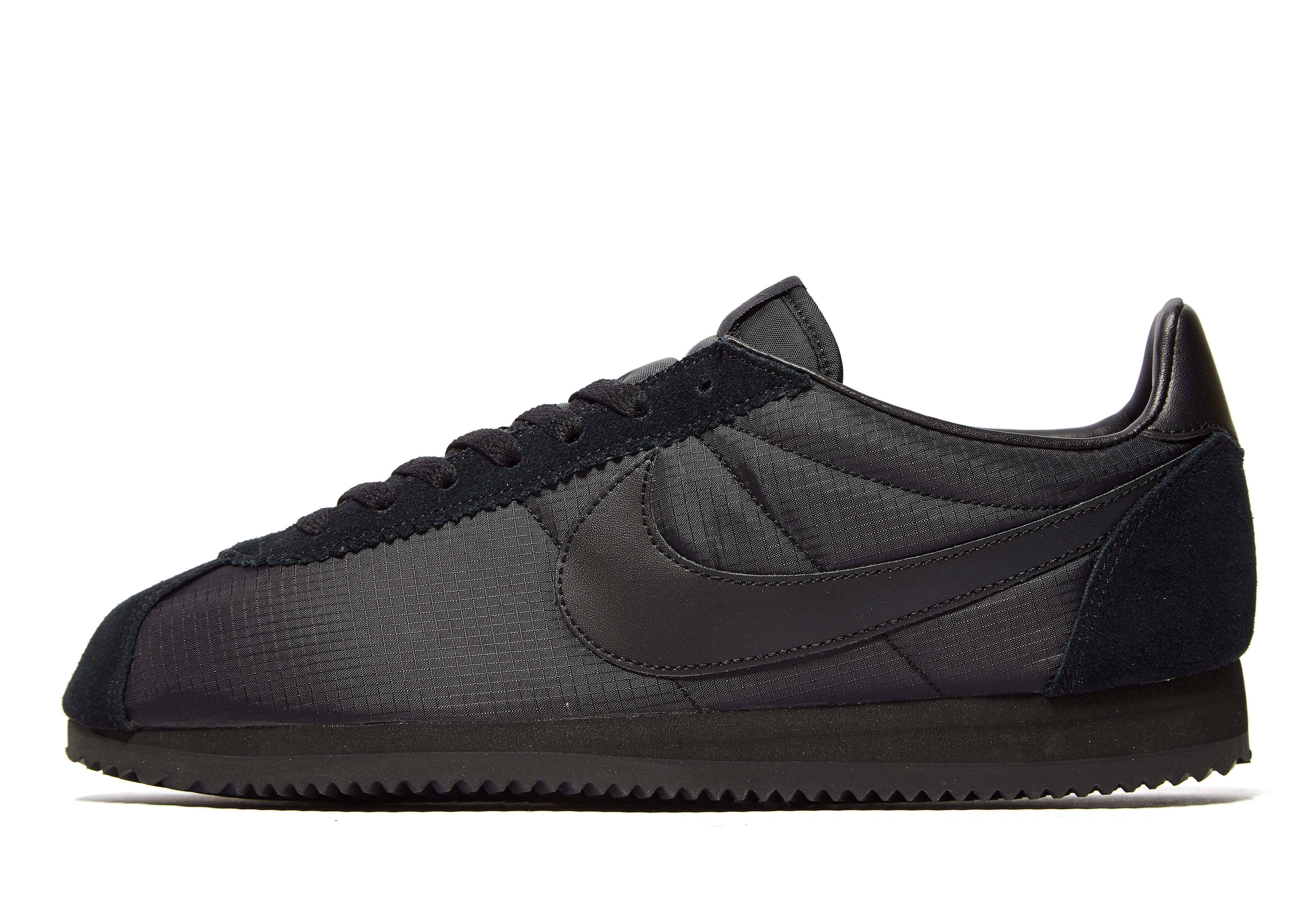 Nike Cortez Nylon Heren - Zwart - Heren