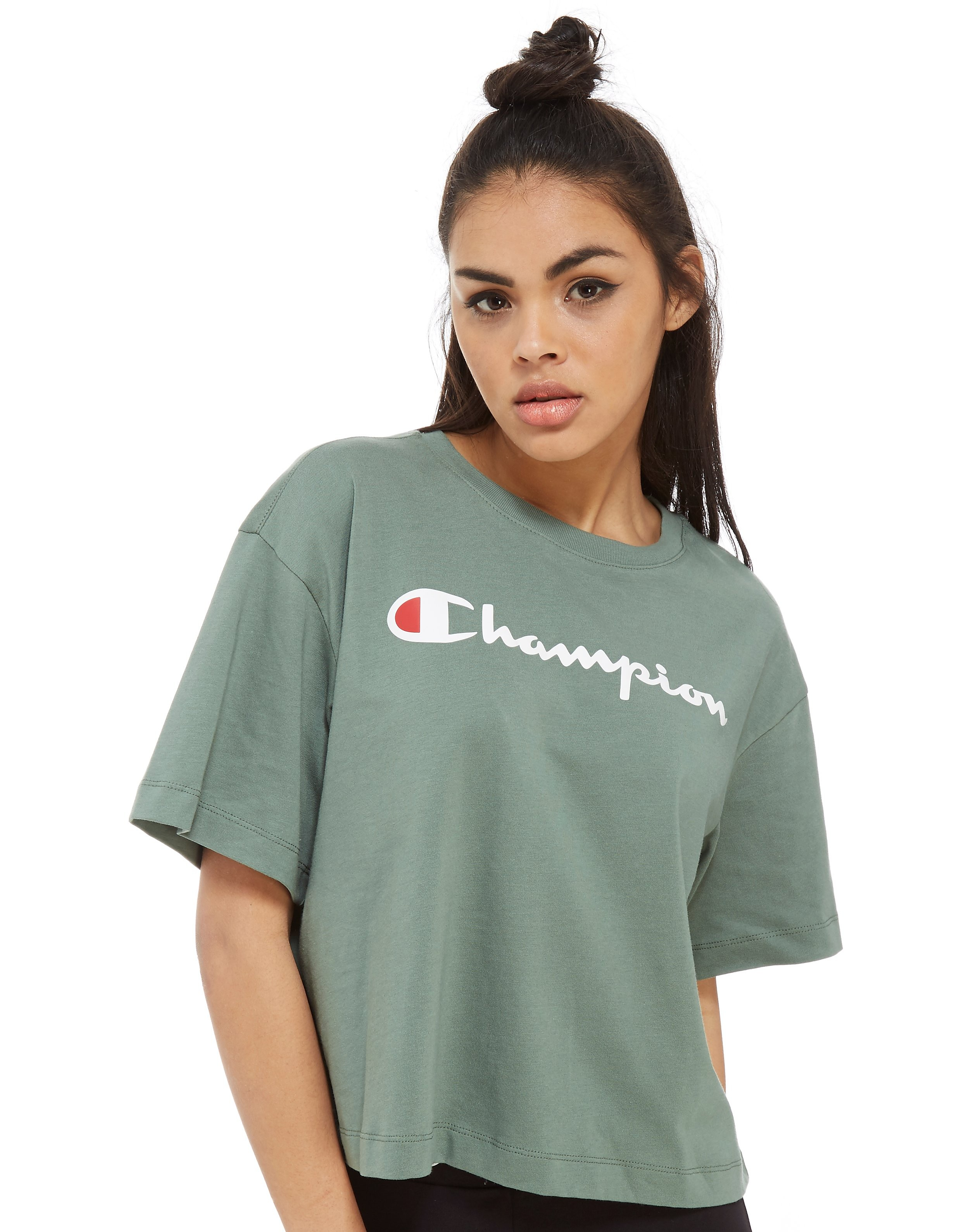 Champion Boxy Logo T-Shirt Dames