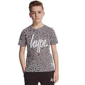 Hype Mono Island T-Shirt Junior