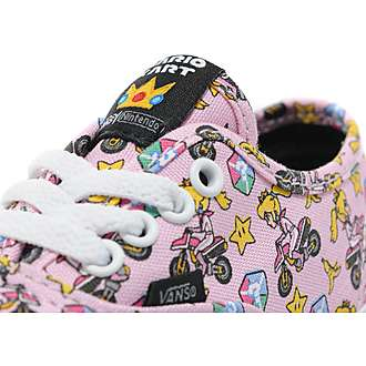 Vans x Nintendo Princess Peach Authentic Infant