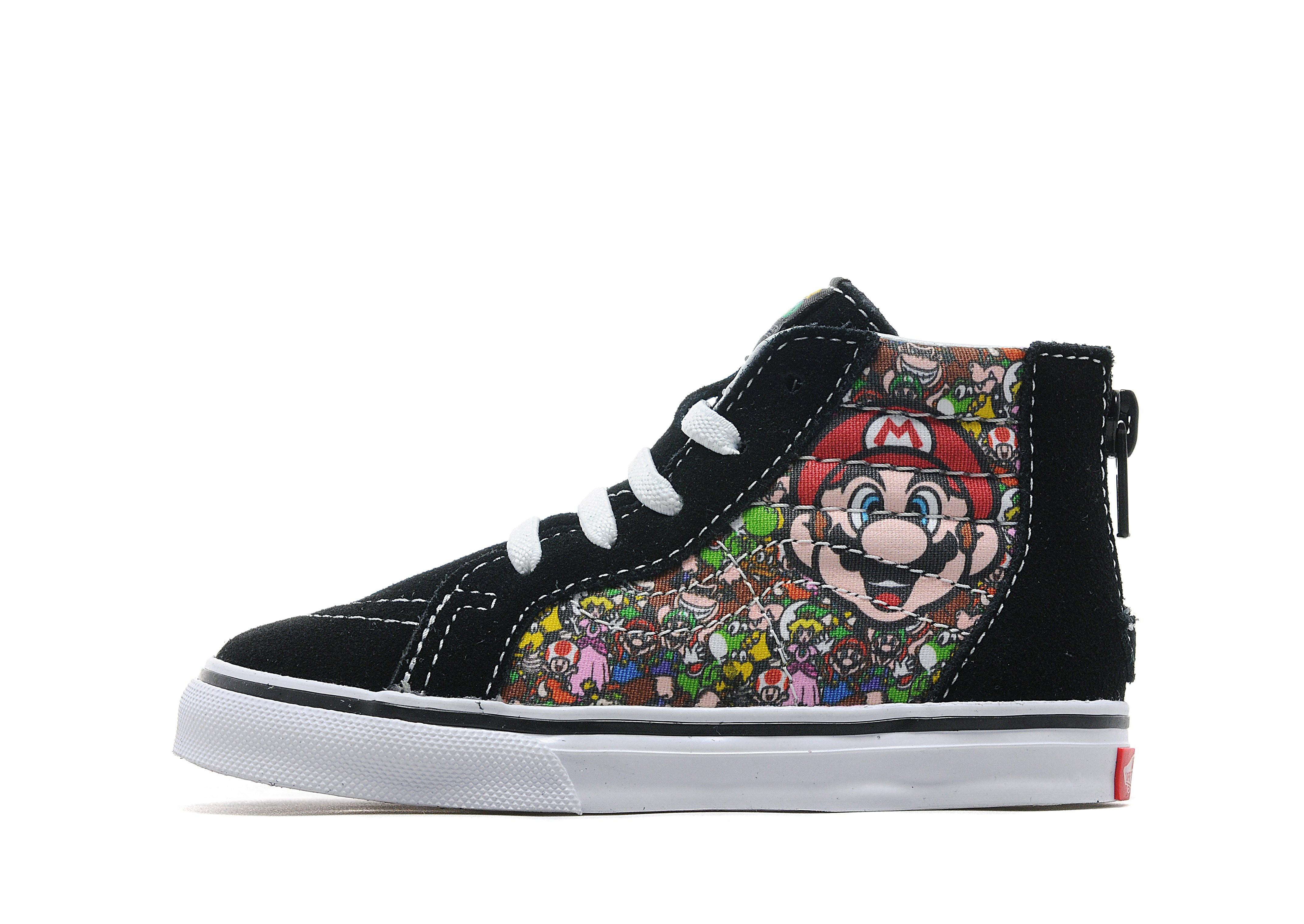 Vans x Nintendo Mario Sk8 Hi Infant