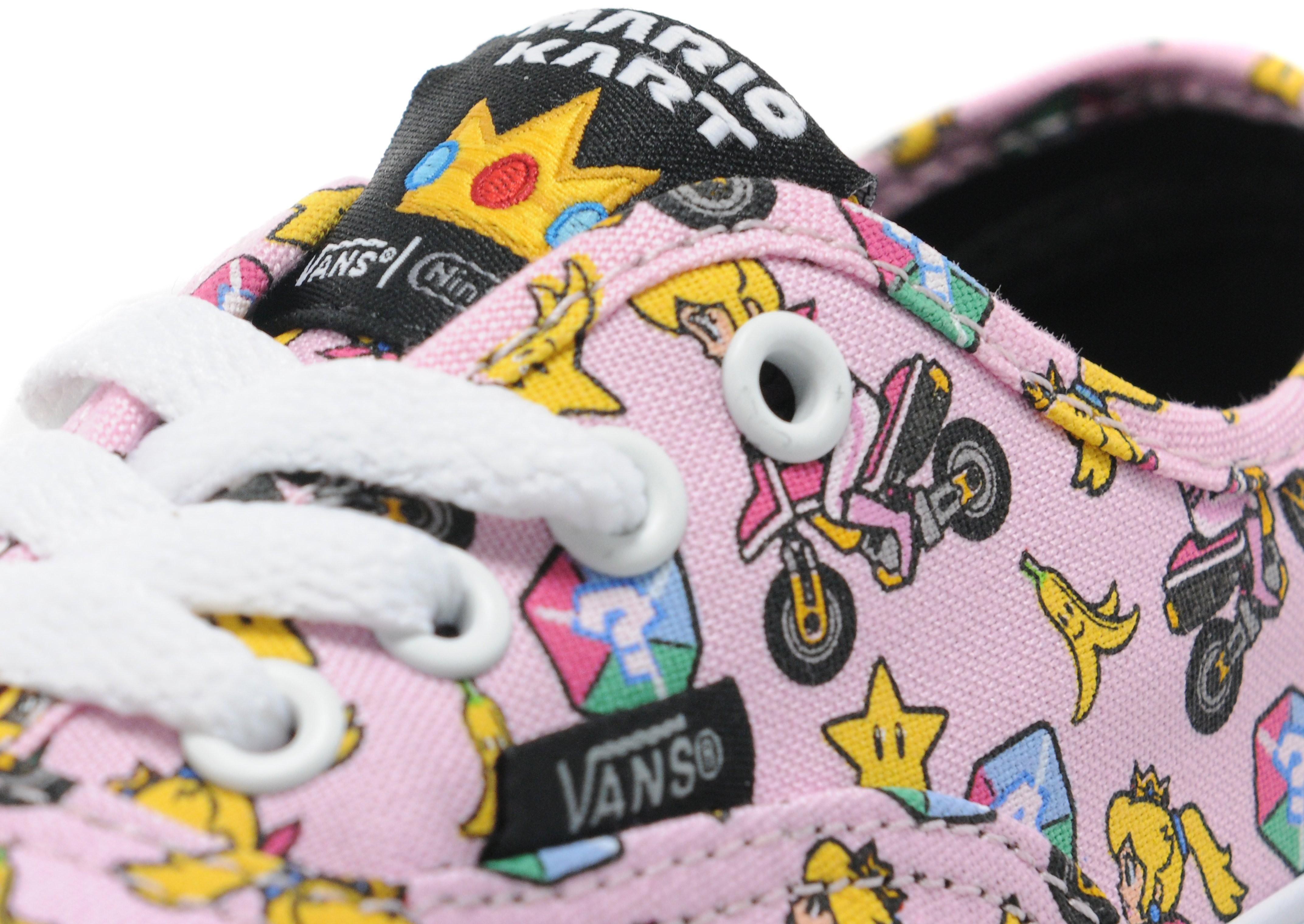 Vans x Nintendo Princess Peach Authentic Children
