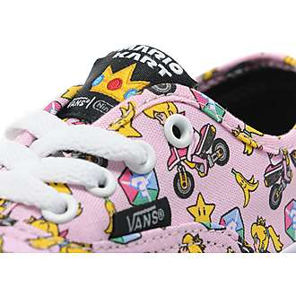 Vans x Nintendo Princess Peach Authentic Children