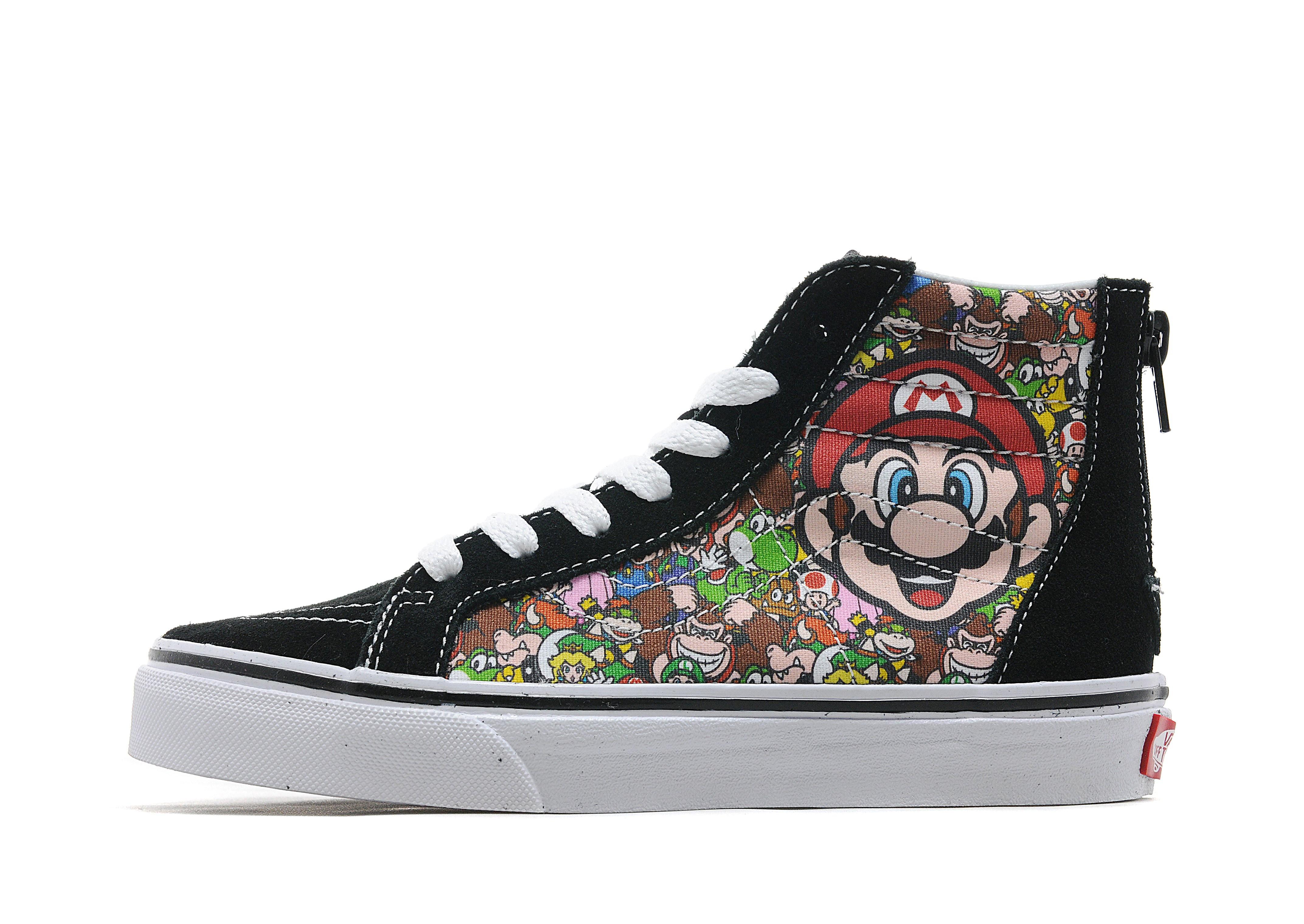 Vans x Nintendo Mario Sk8 Hi Children