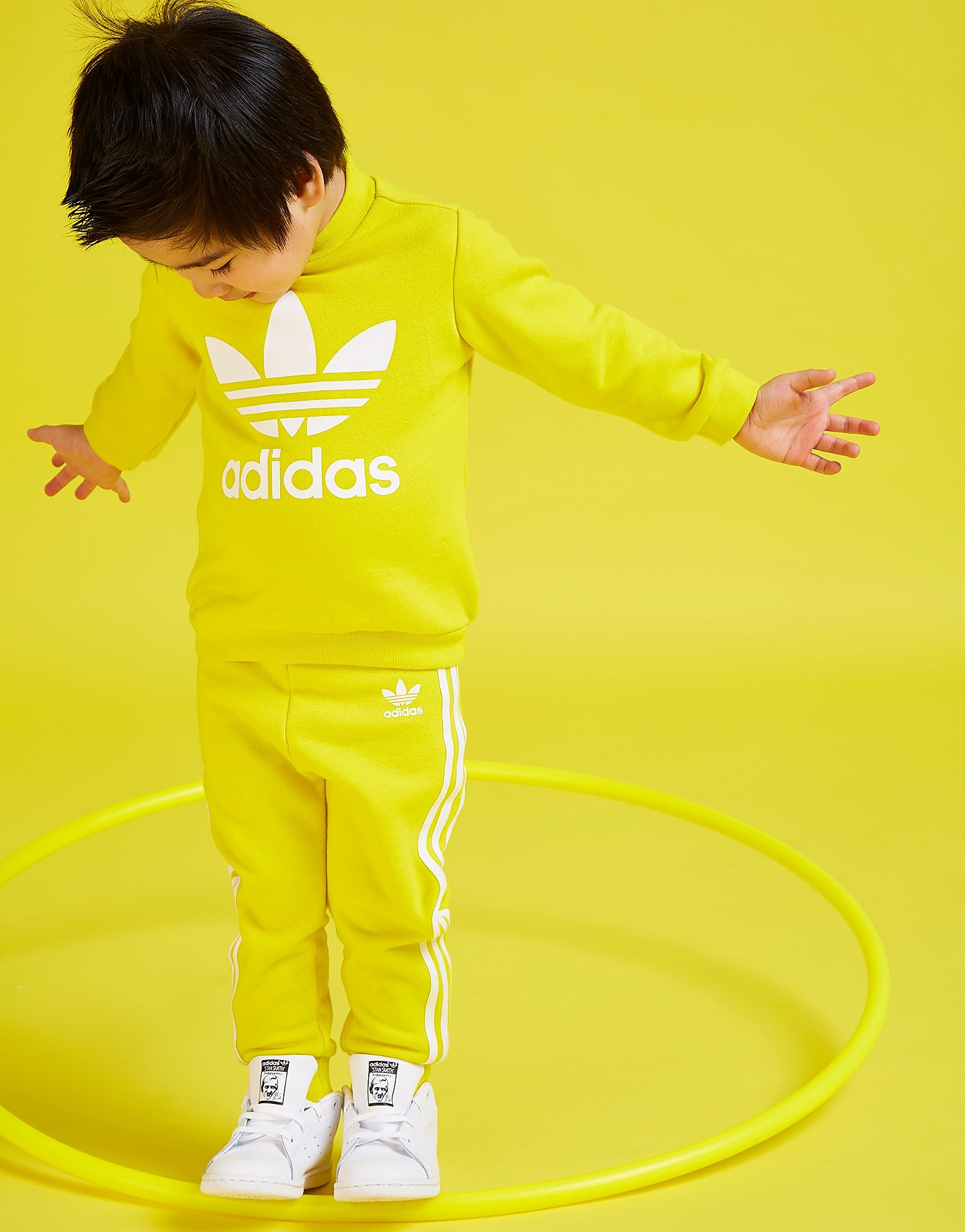 adidas Originals Trefoil Crew Suit Infant