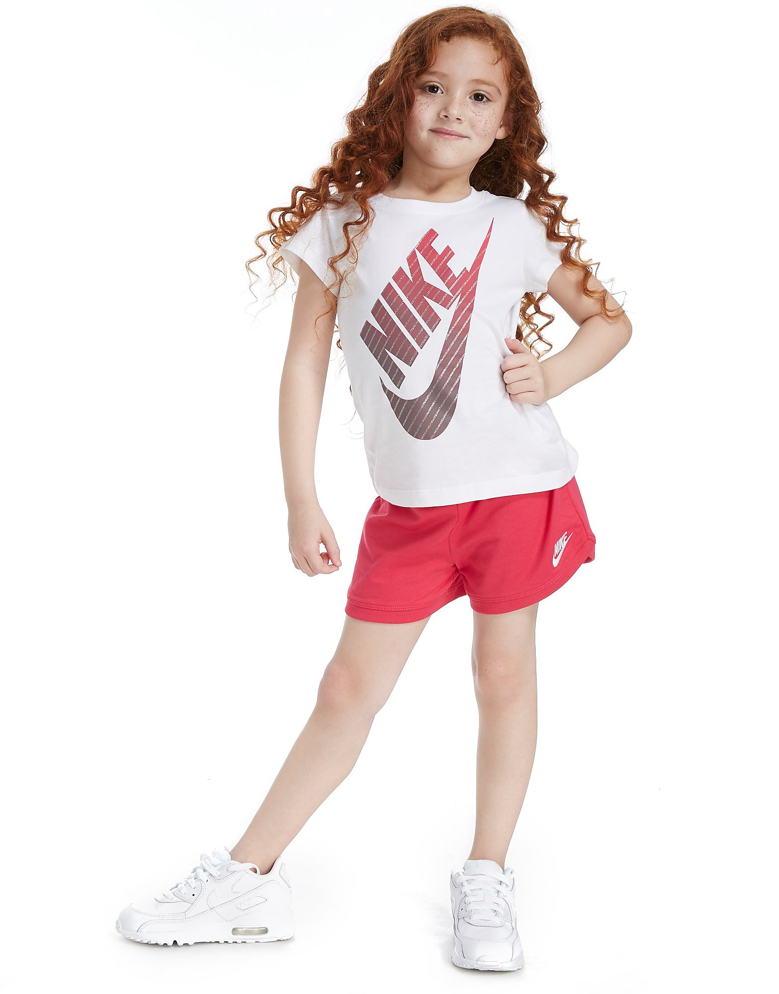 Nike Girls' Futura T-Shirt/Shorts Set Children