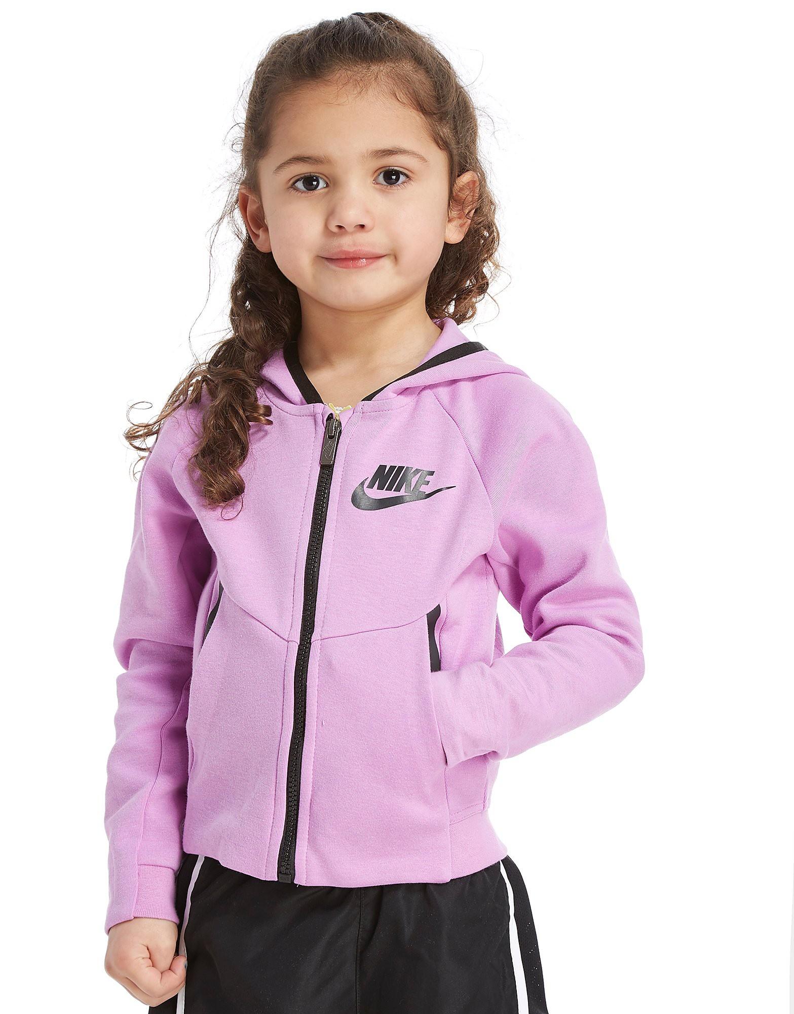 Nike Girls' Tech Full Zip Hoodie Children
